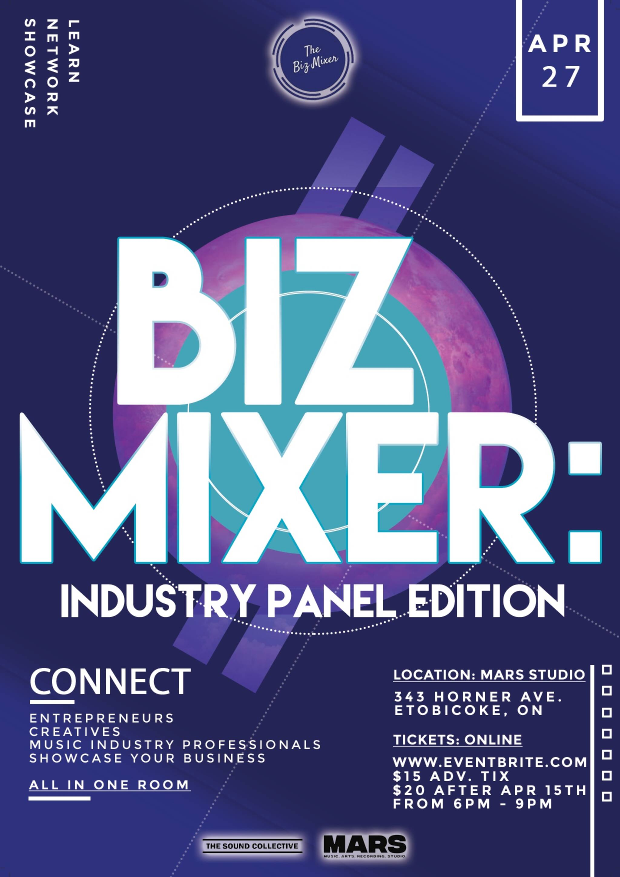 The Biz Mixer Turns 1!
