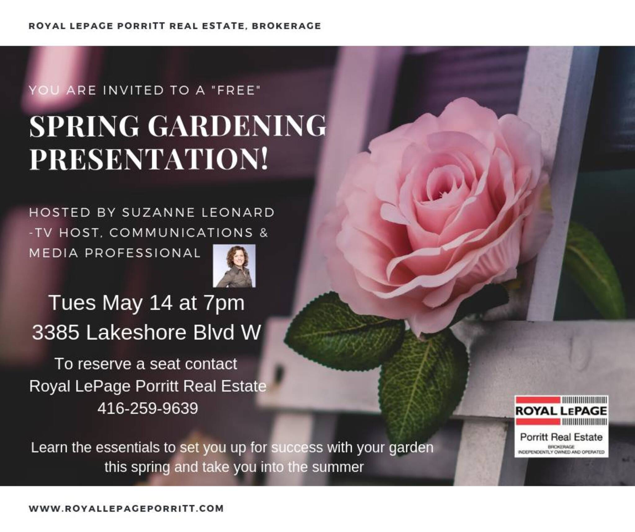 Spring Gardening Presentation hosted by Suzanne Leonard