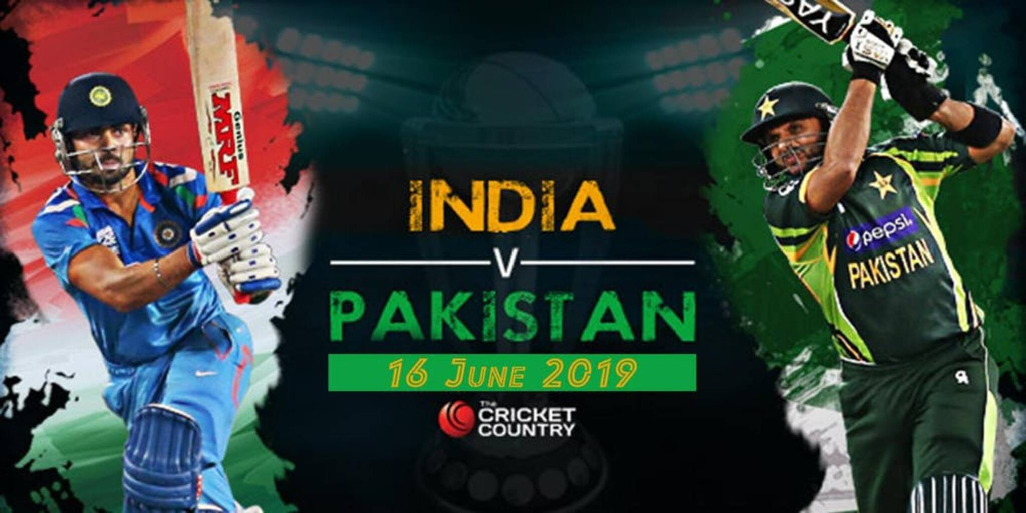 India Vs Pakistan Icc Cricket World Cup 2019