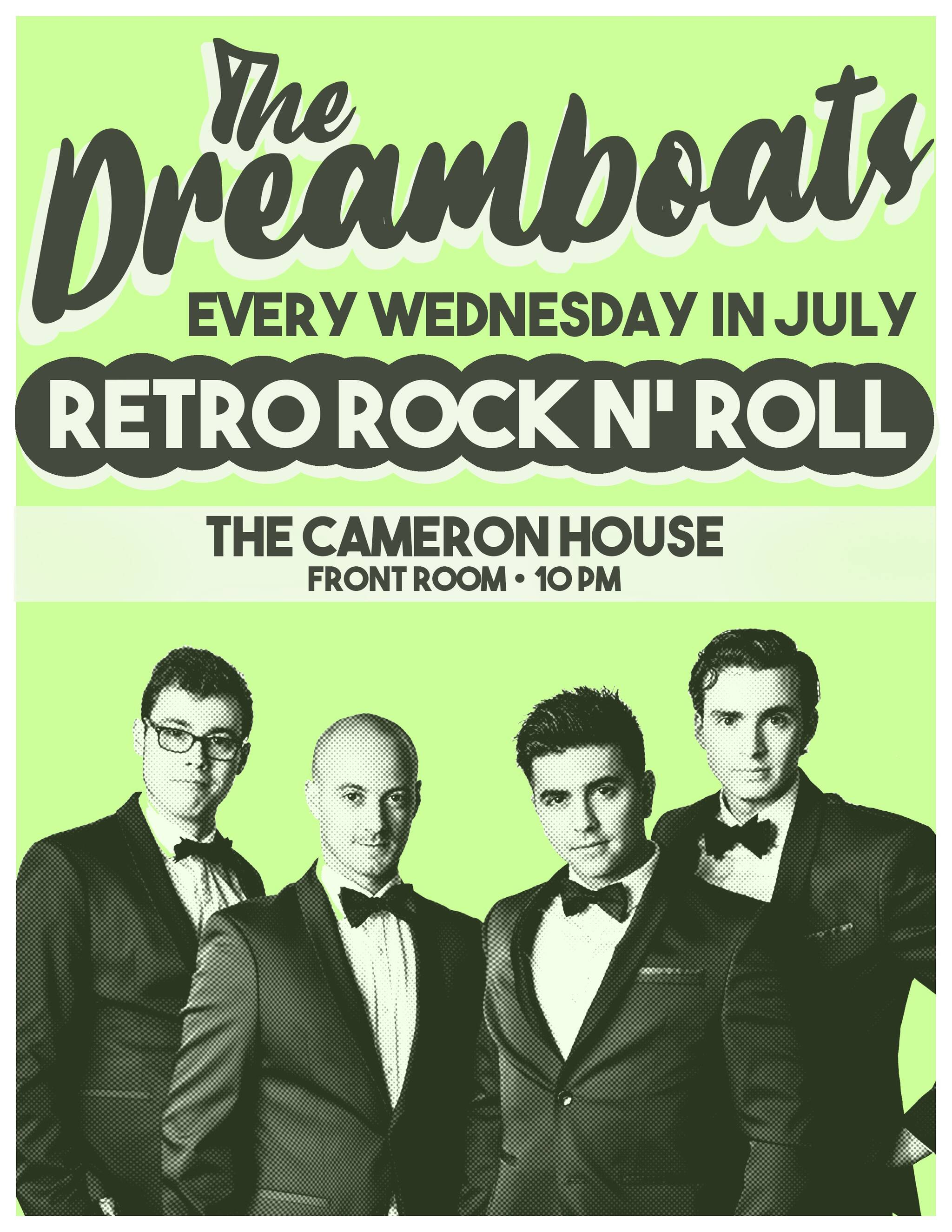 Live 50s & 60s Rock n' Roll Party with The Dreamboats every