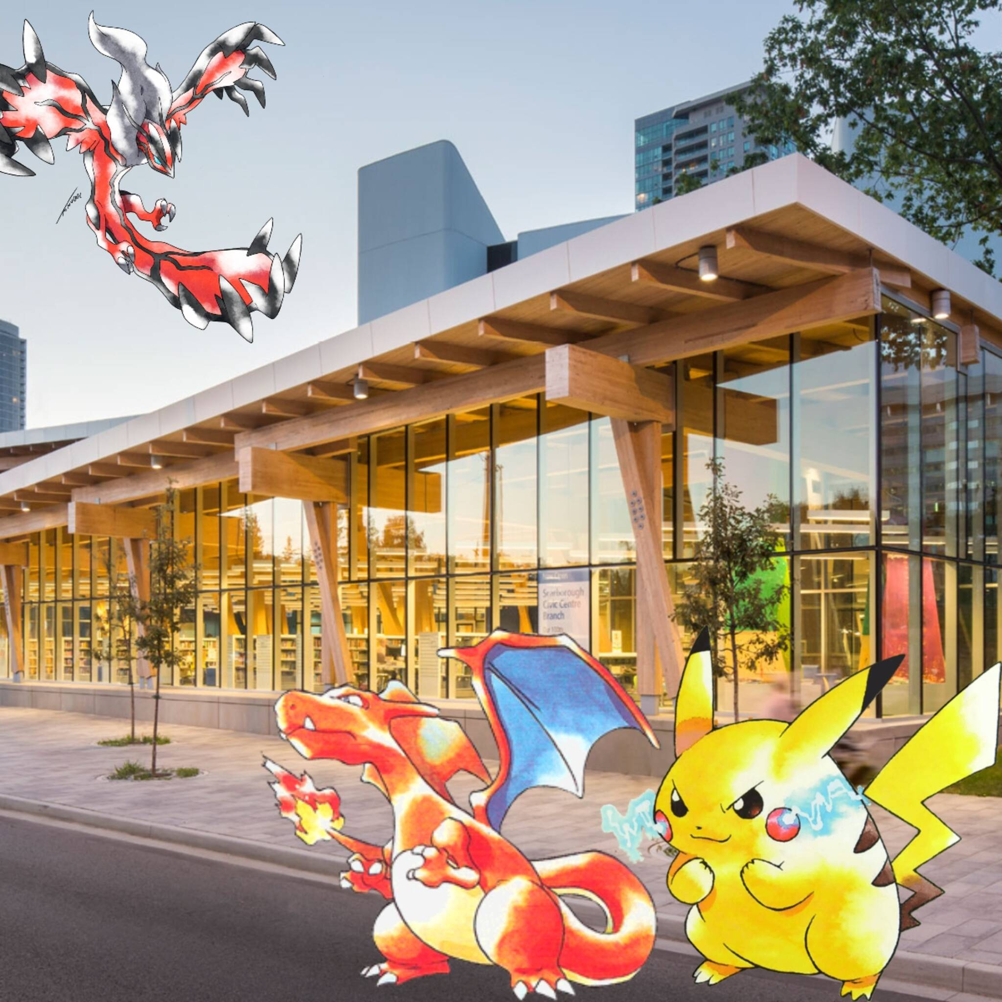 Pokemon Club at the Scarborough Civic Centre Library, July