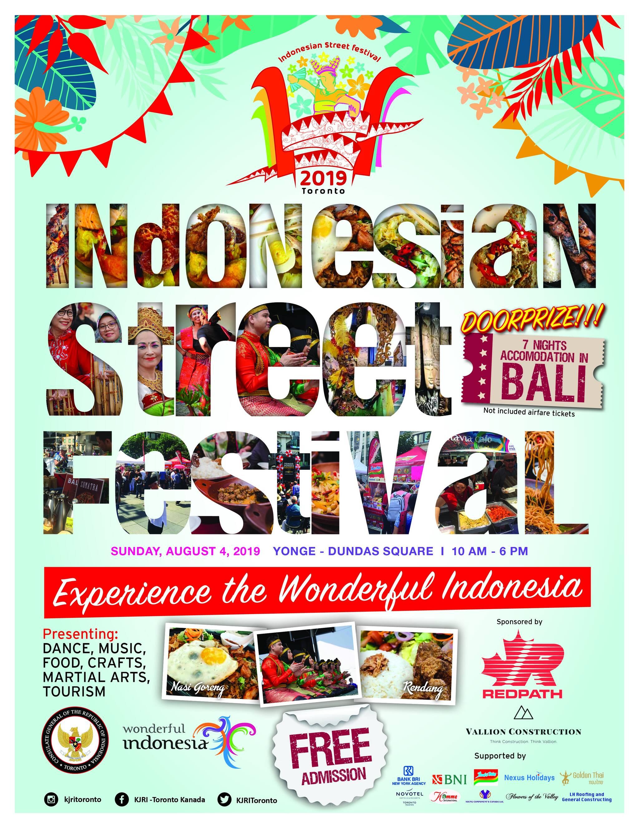 Indonesian Street Festival 2019