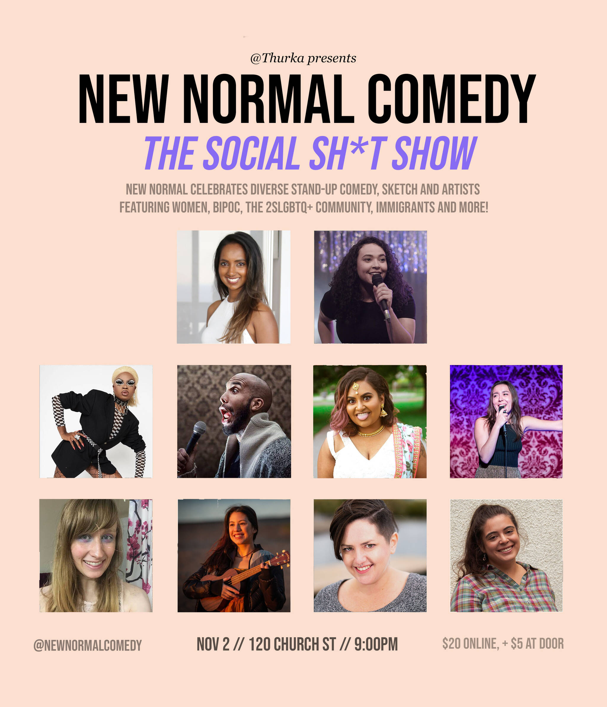 New Normal Comedy The Social Sh T Show