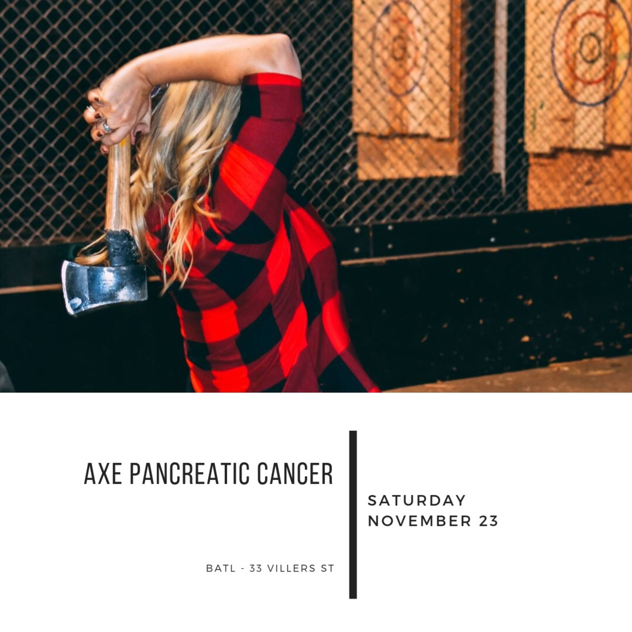 Axe Pancreatic Cancer