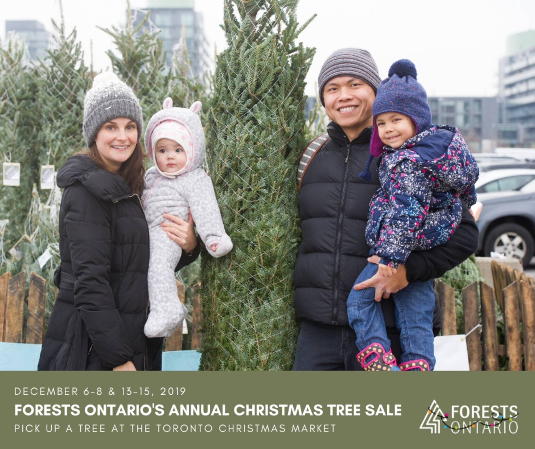 Christmas Trees Toronto: Forests Ontario's Annual Christmas Tree Sale @ The Toronto