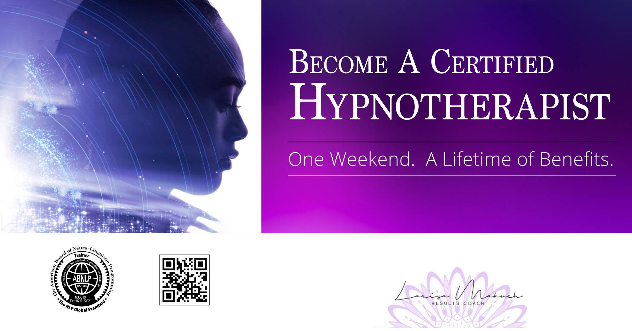 Become a Certified Hypnotherapist