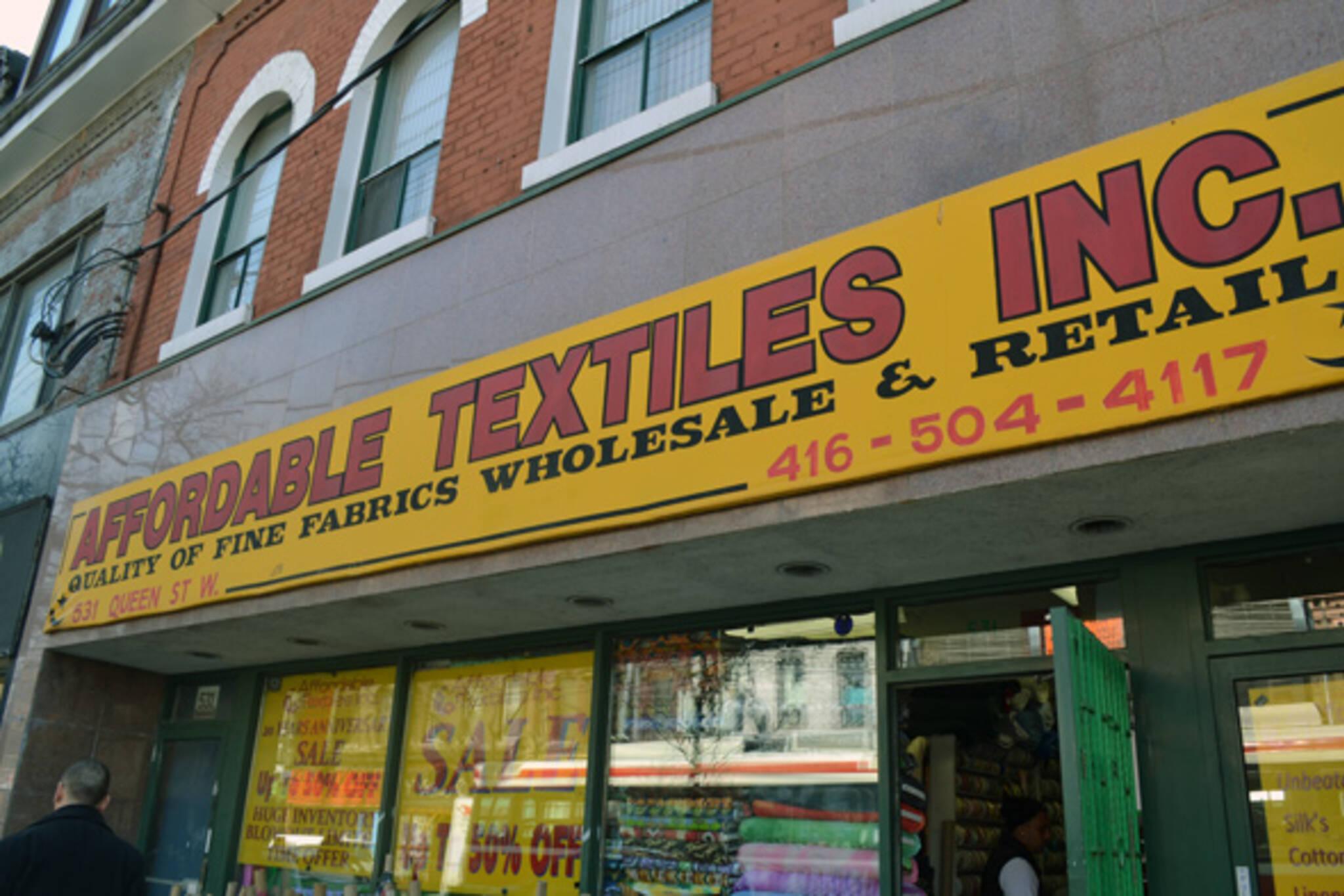 Affordable Textiles Toronto
