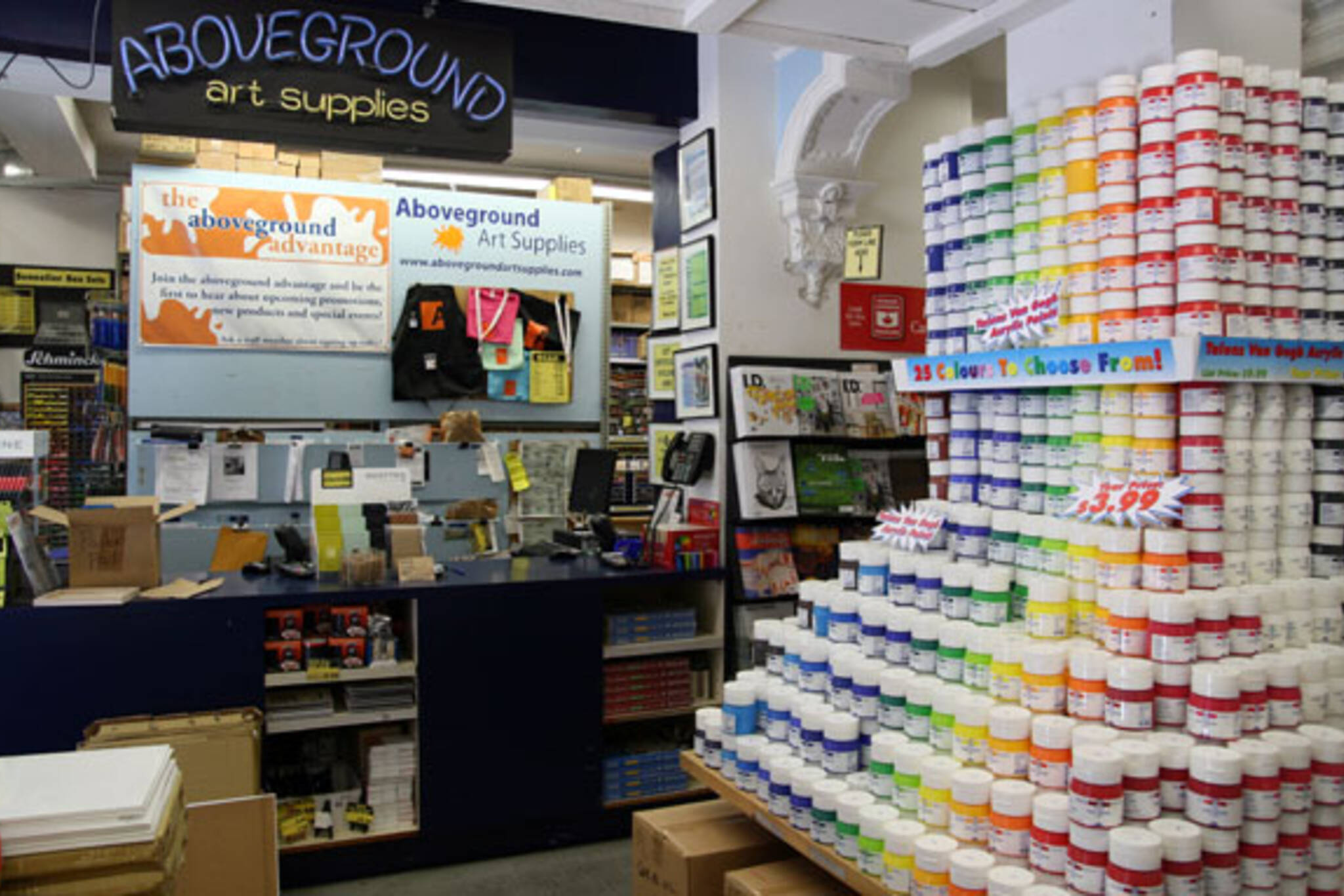 Aboveground Art Supplies - blogTO - Toronto