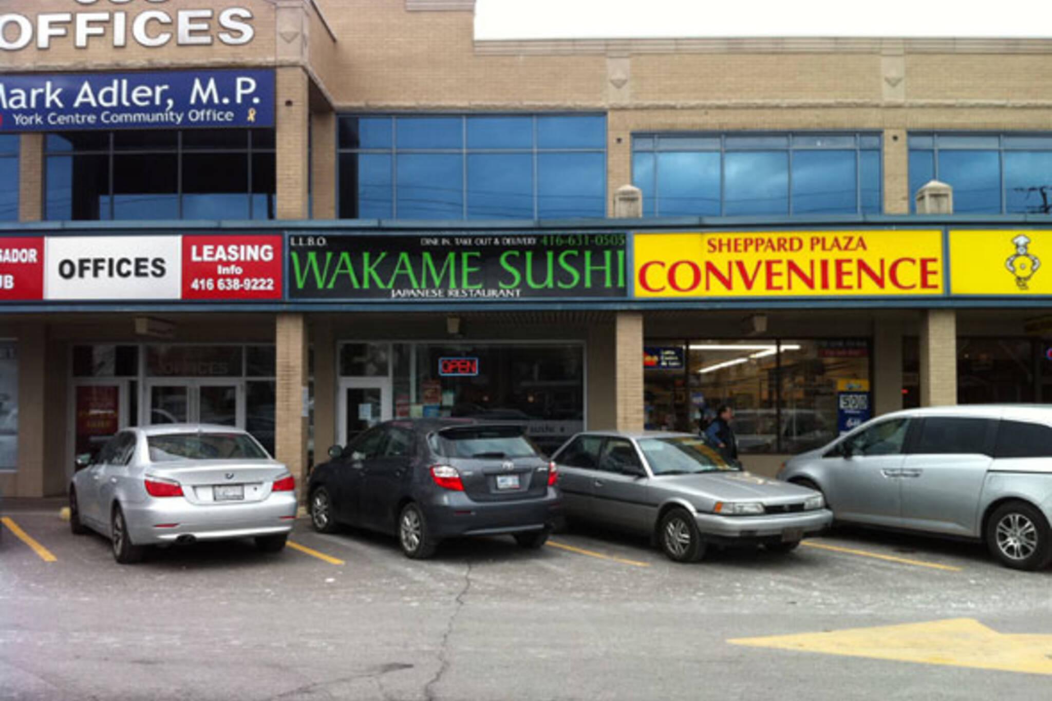 Wakame Sushi North York