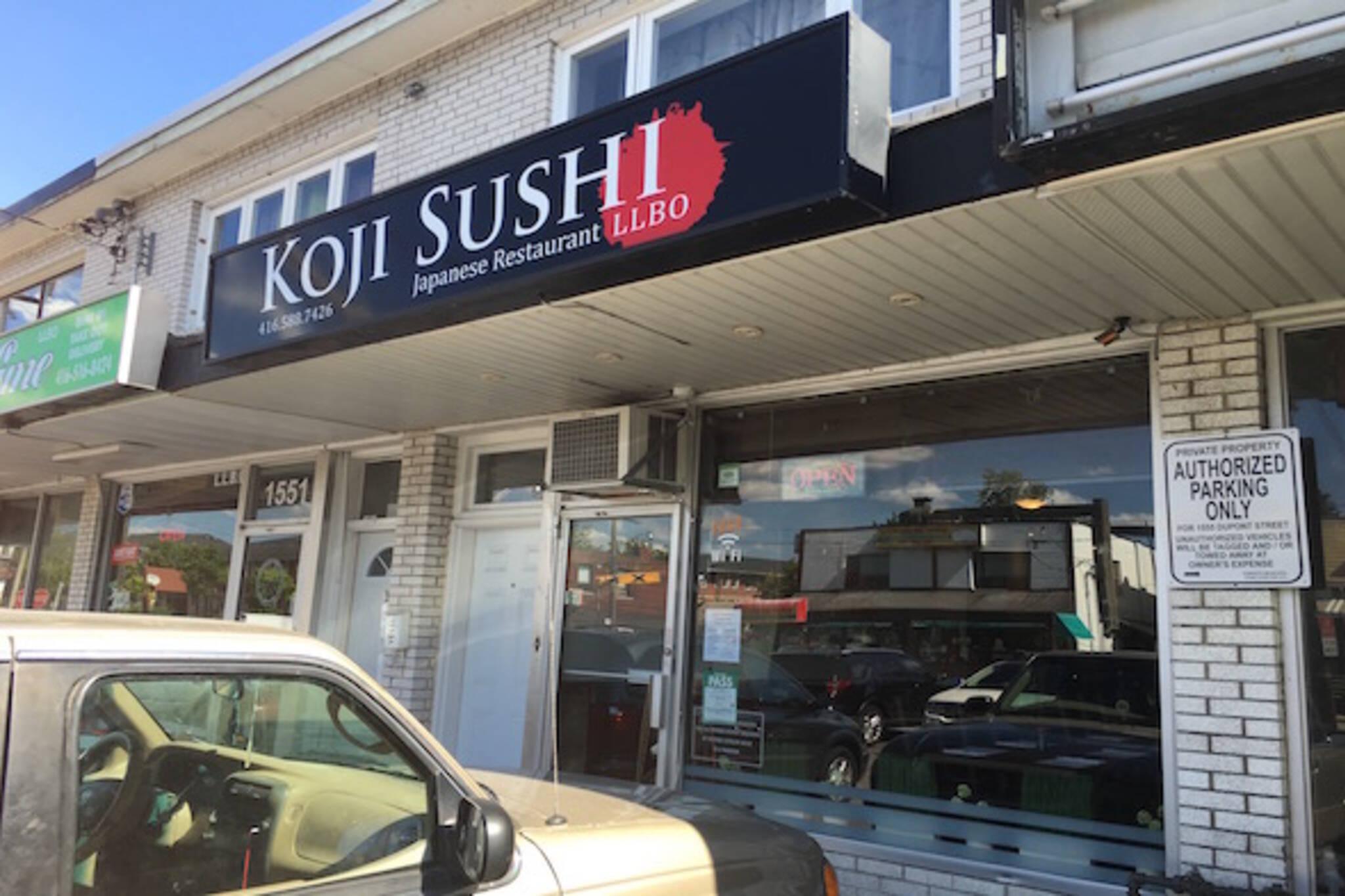 Koji Sushi Toronto