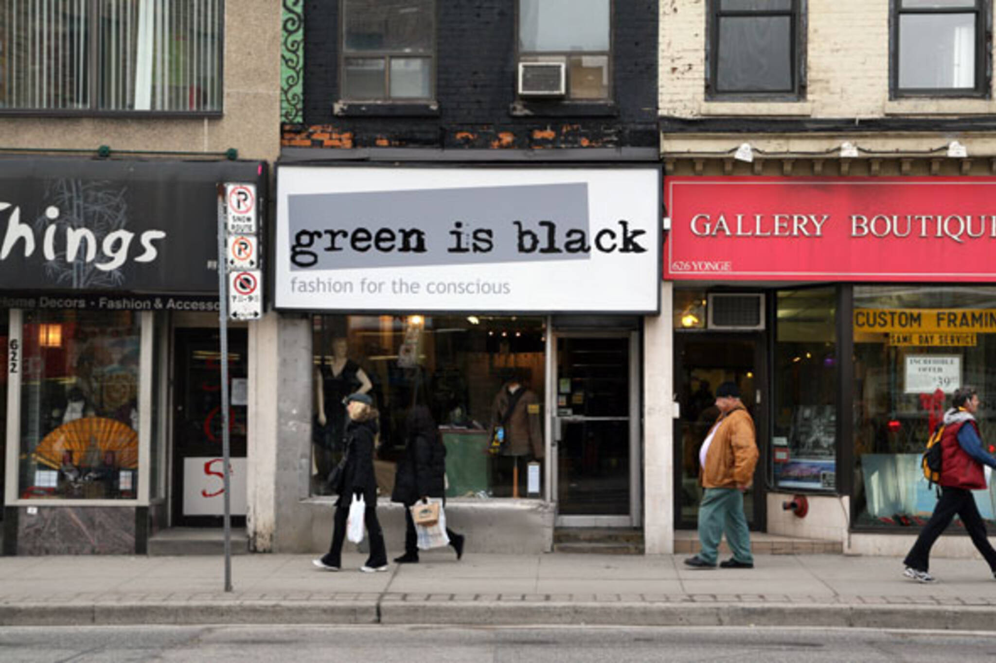 Green is Black