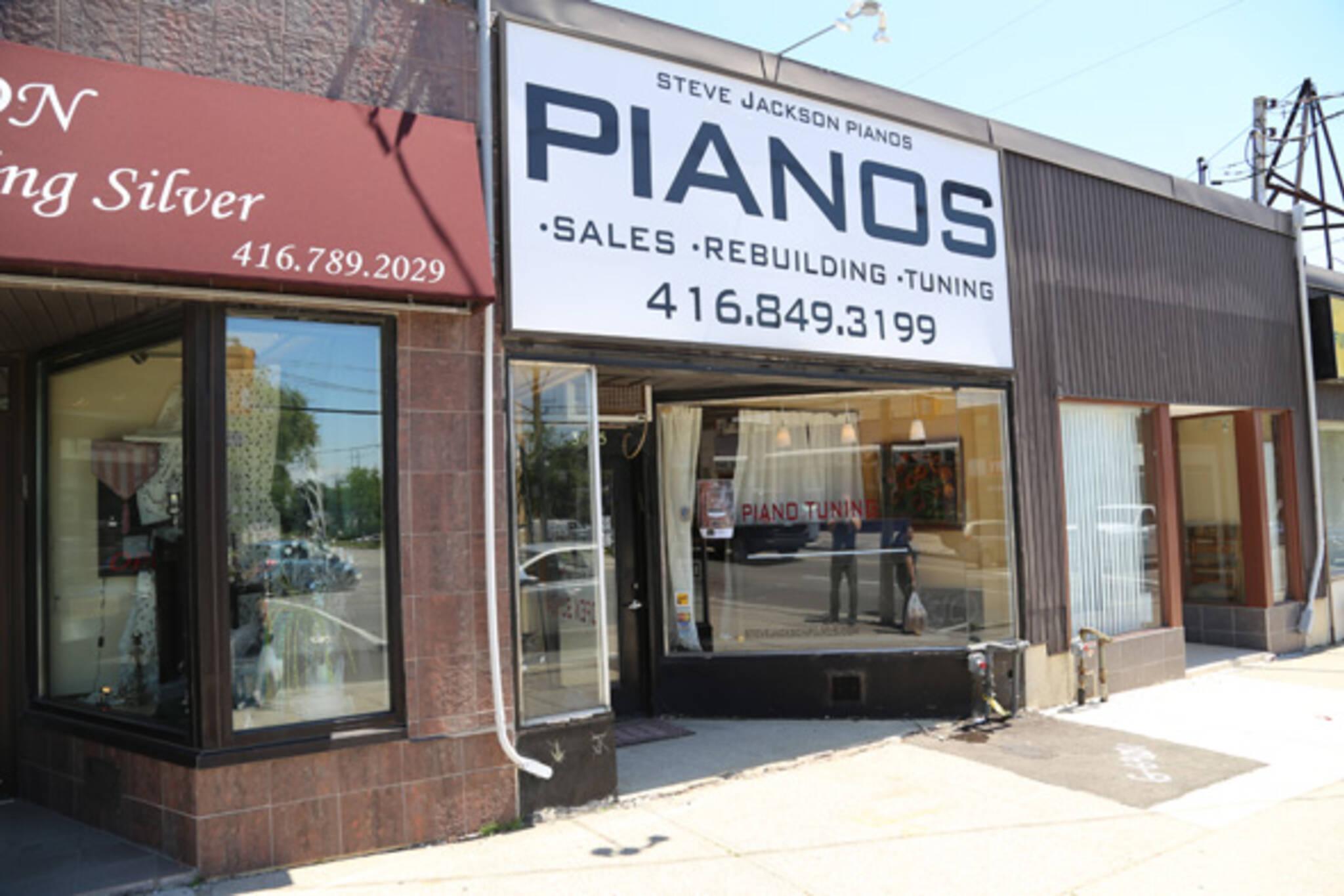 Steve Jackson Pianos Toronto