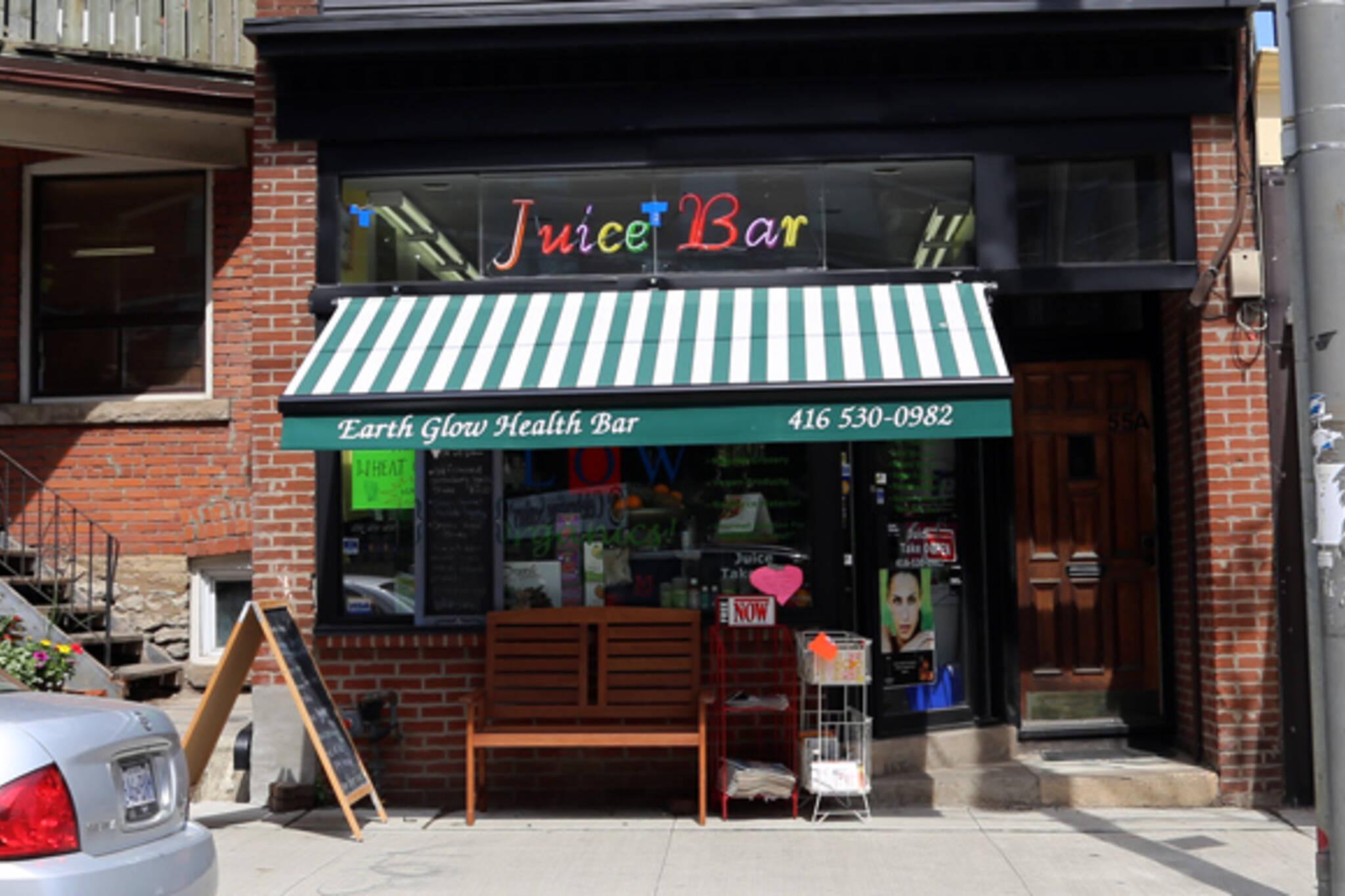 Earth Glow Health Bar Toronto