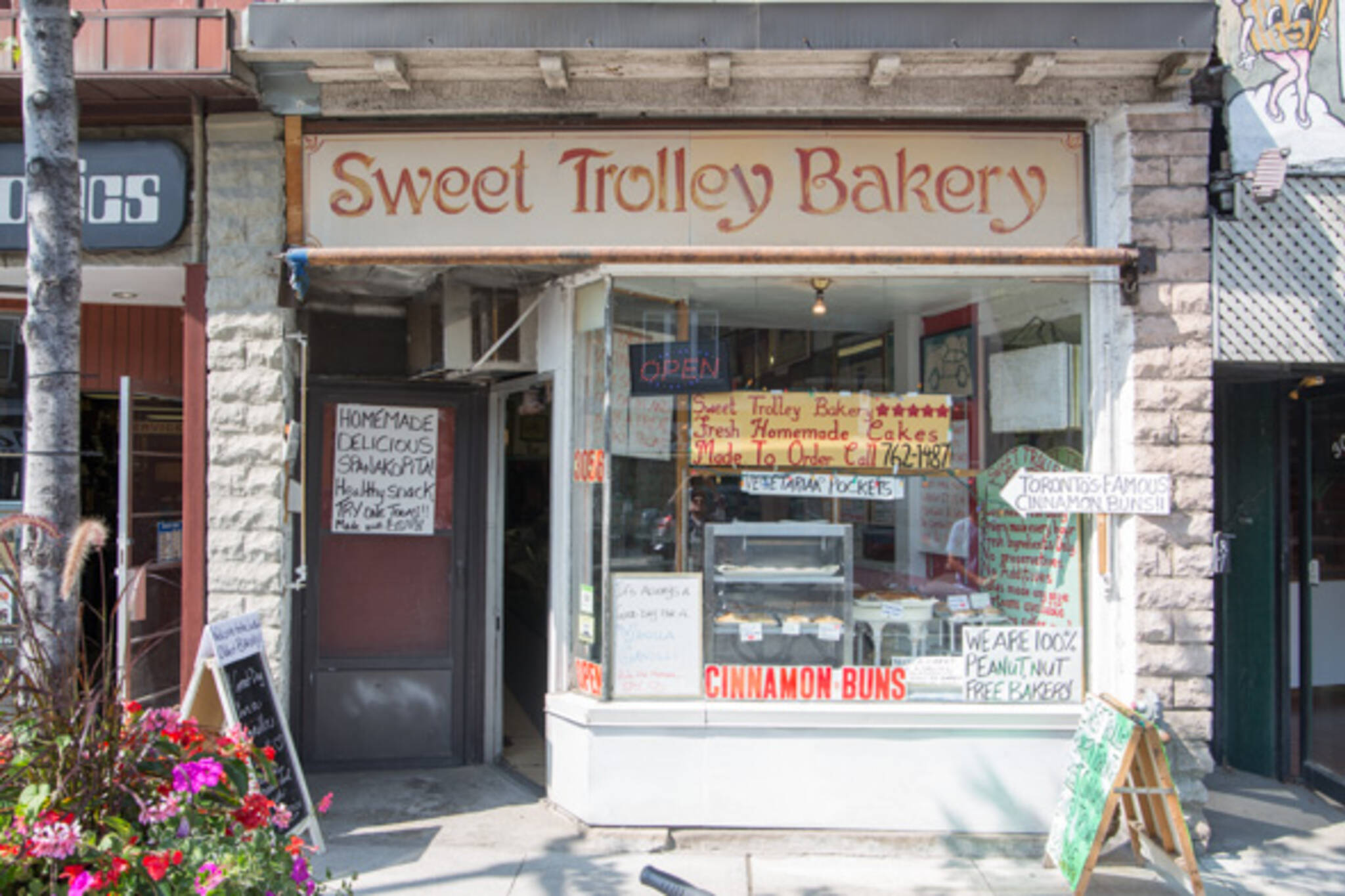 Sweet Trolley Bakery Toronto