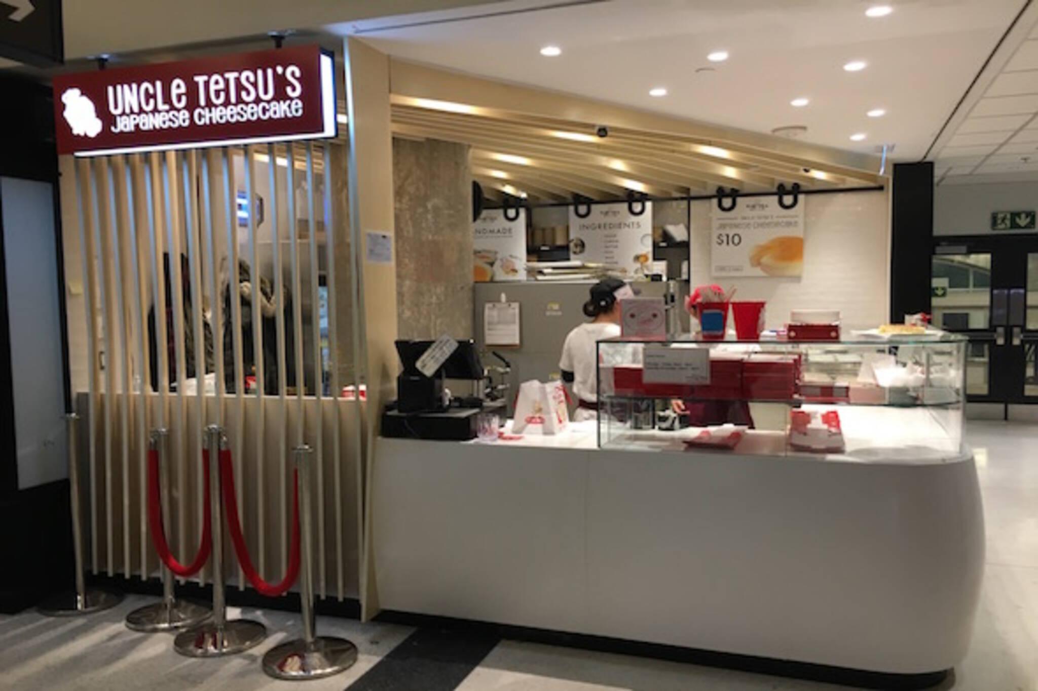 Uncle Tetsus Japanese Cheesecake Union Station