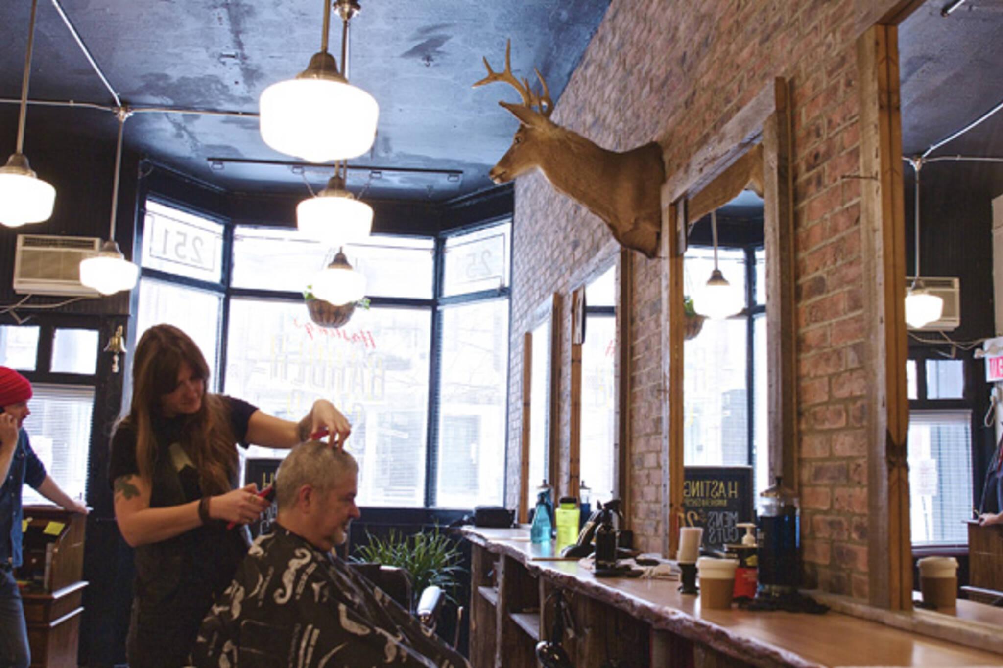 Man Cave Barber Dublin : Hastings barber shop cabbagetown blogto toronto