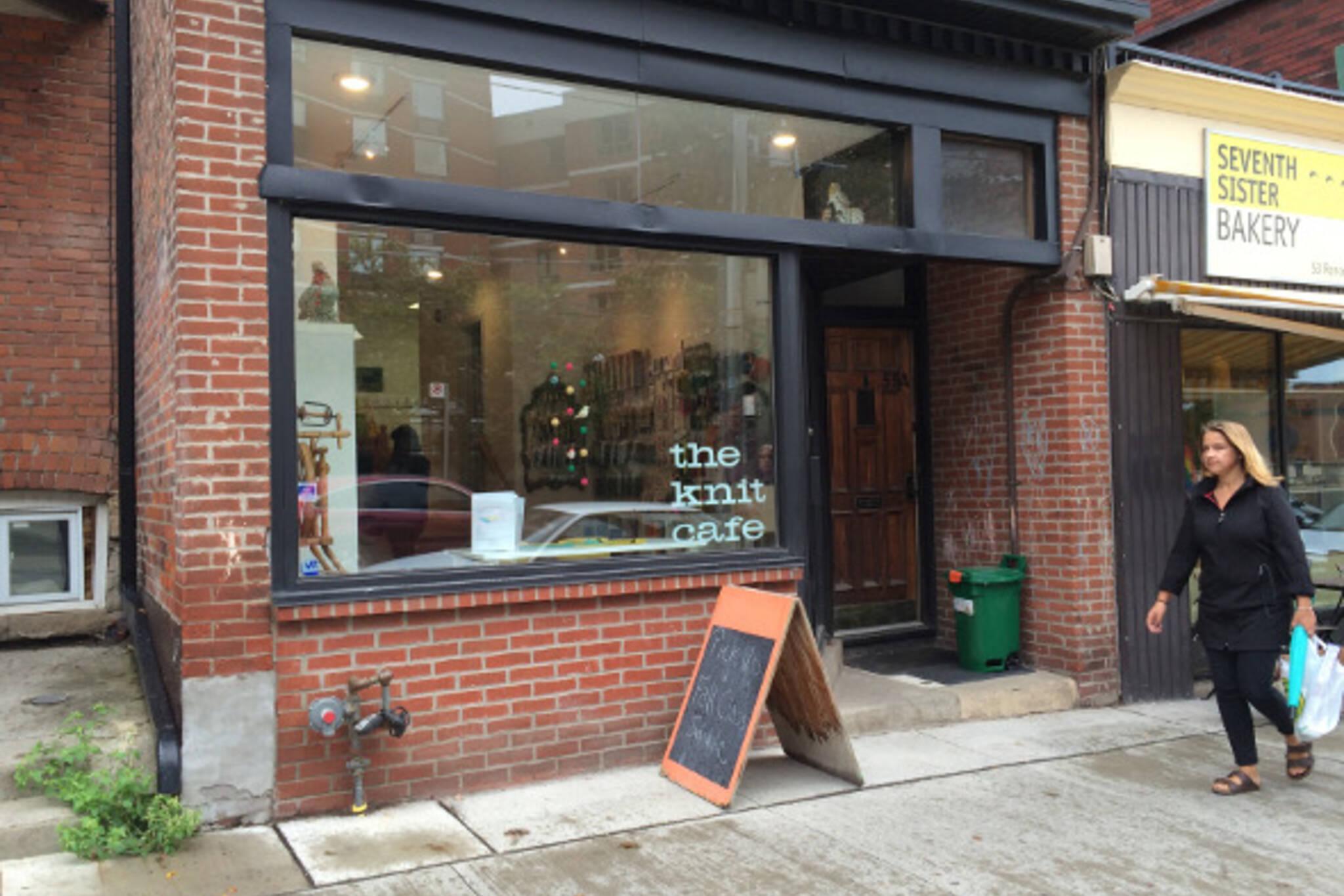 the knit cafe