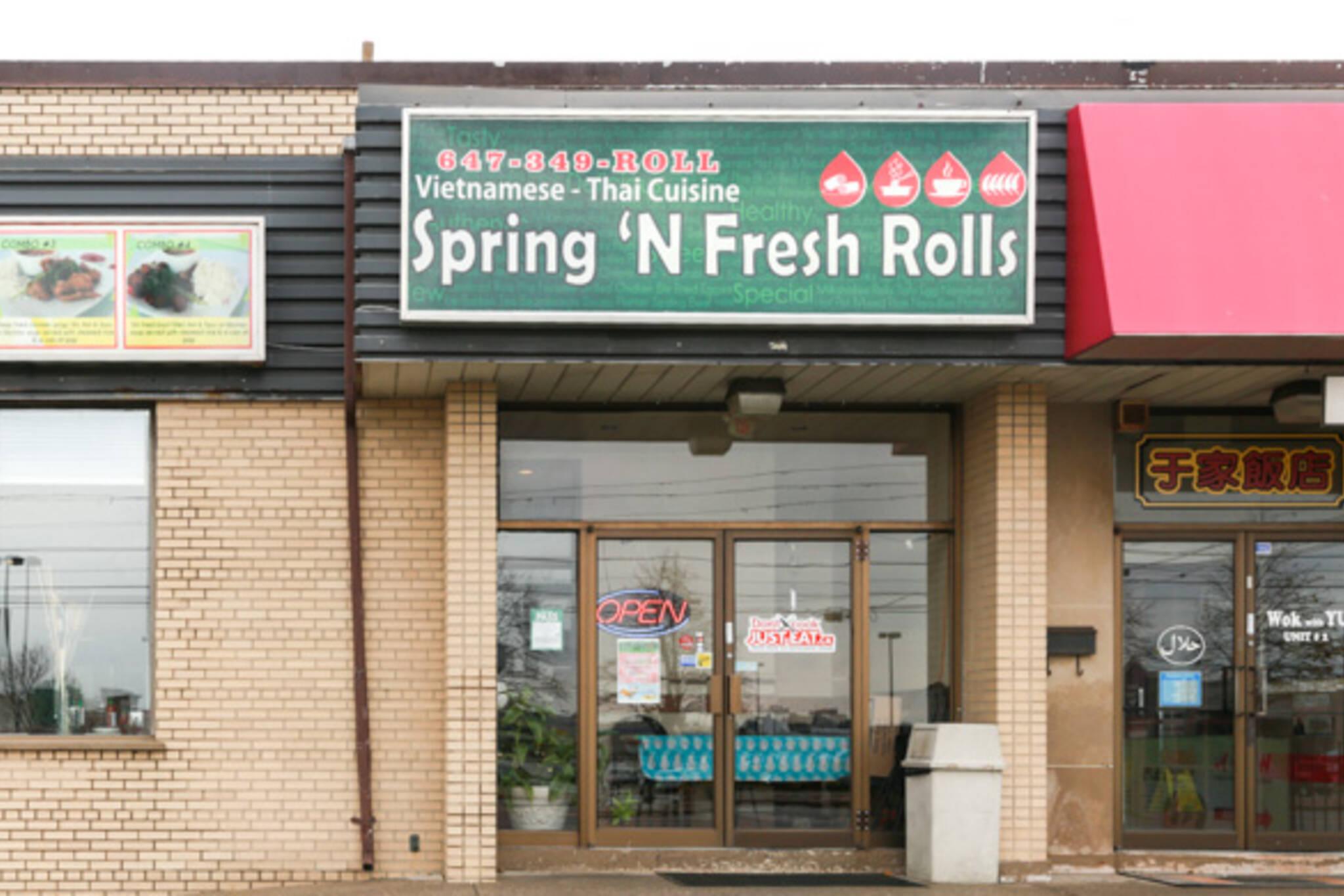 spring n fresh rolls