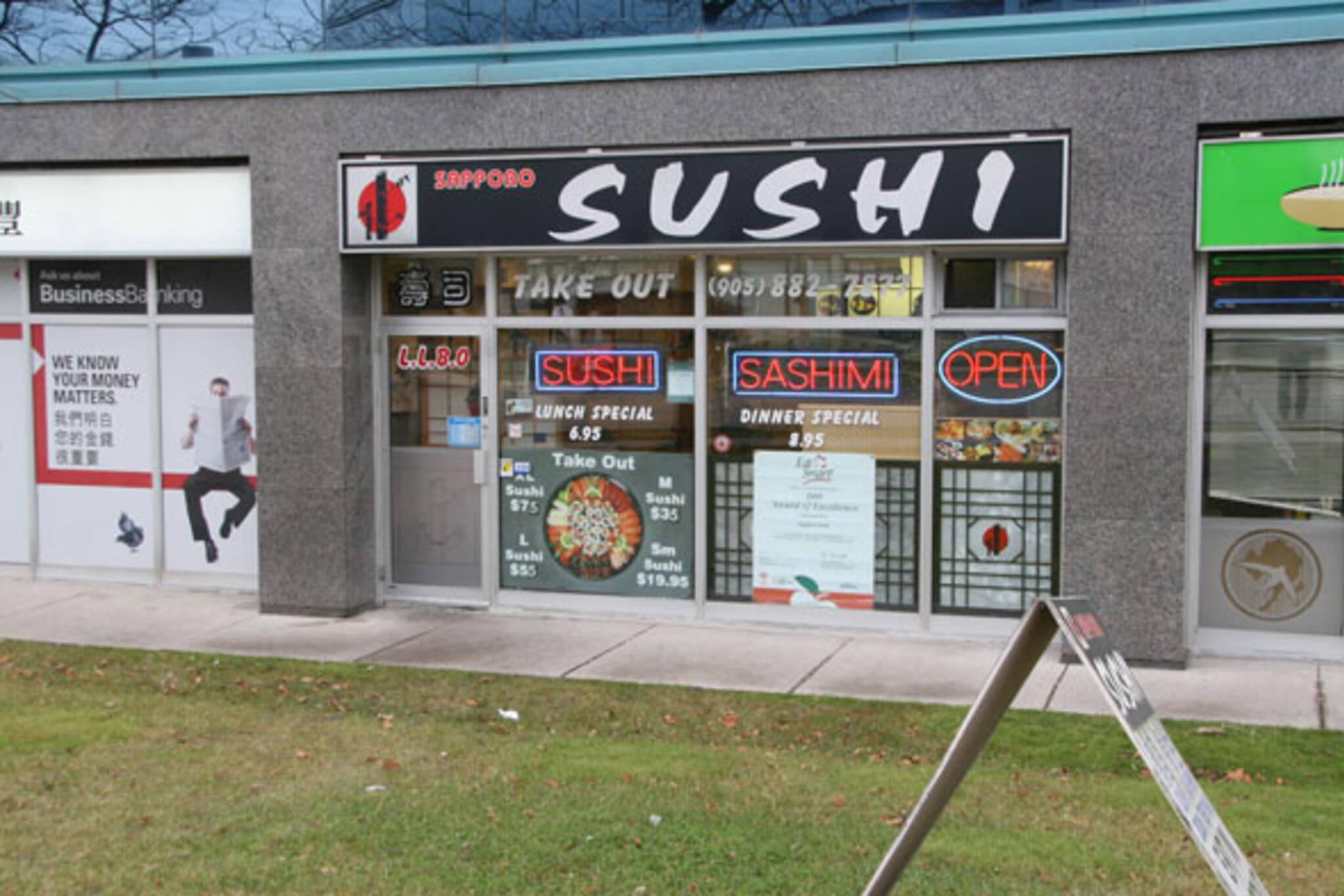 Sapporo Sushi Richmond Hill
