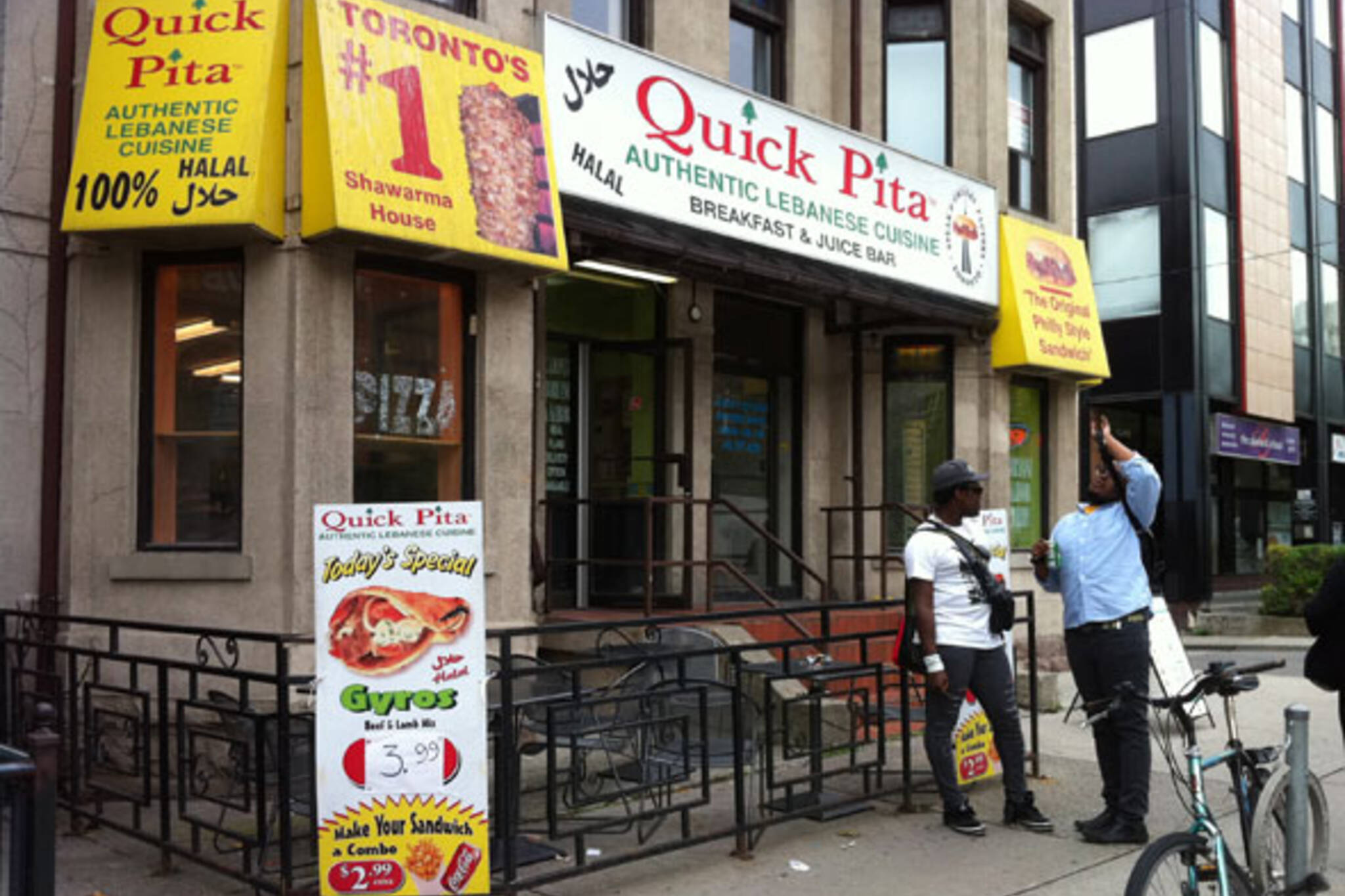 Quick Pita (College St.) Toronto