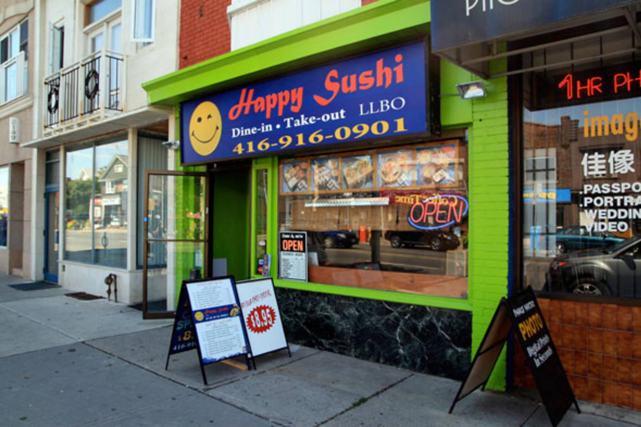 Happy Sushi Toronto