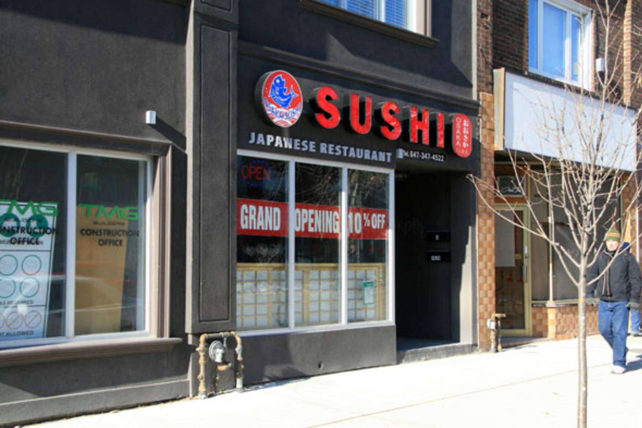 Osaka Sushi Toronto
