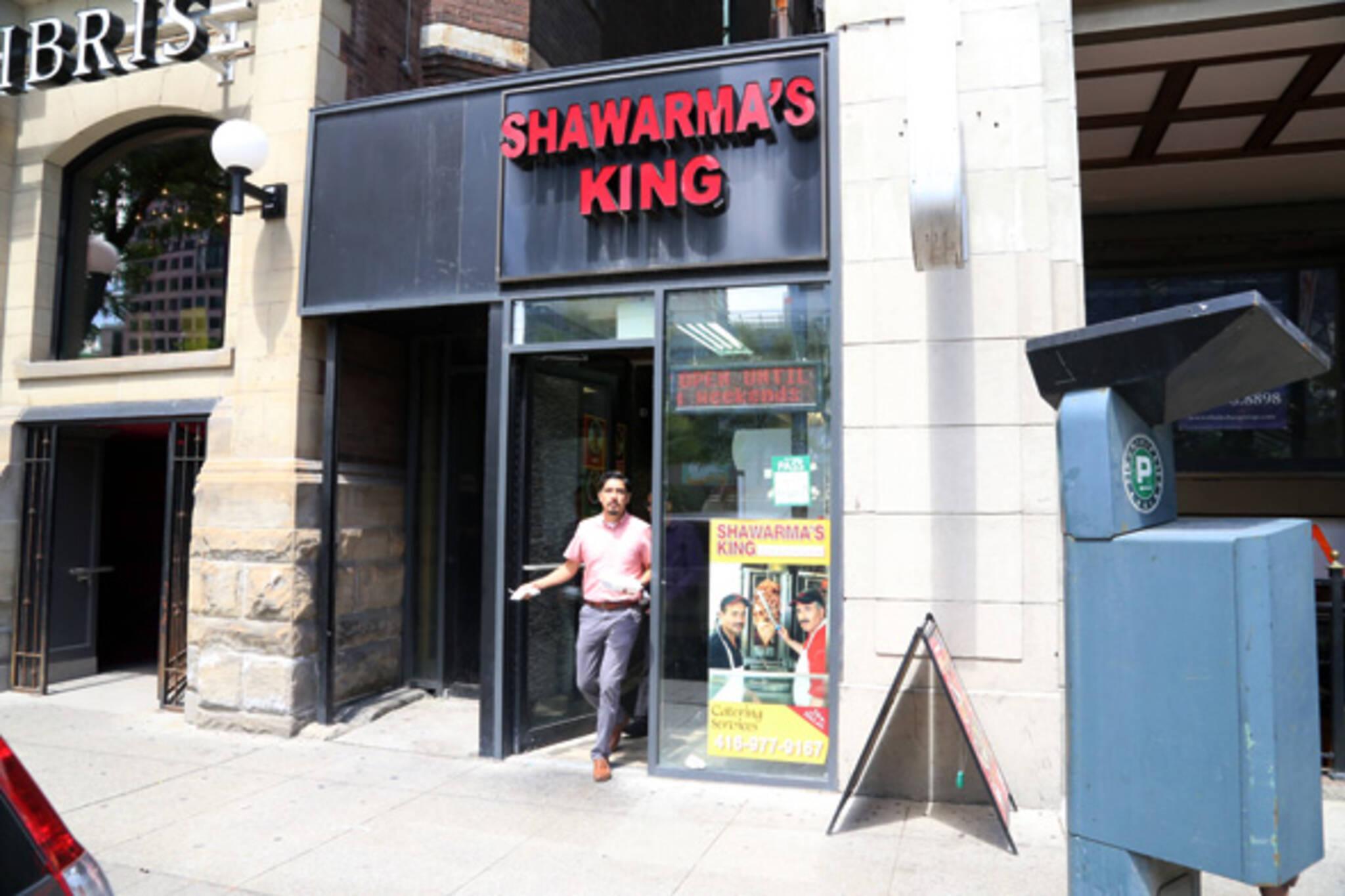 Shawarmas King King West