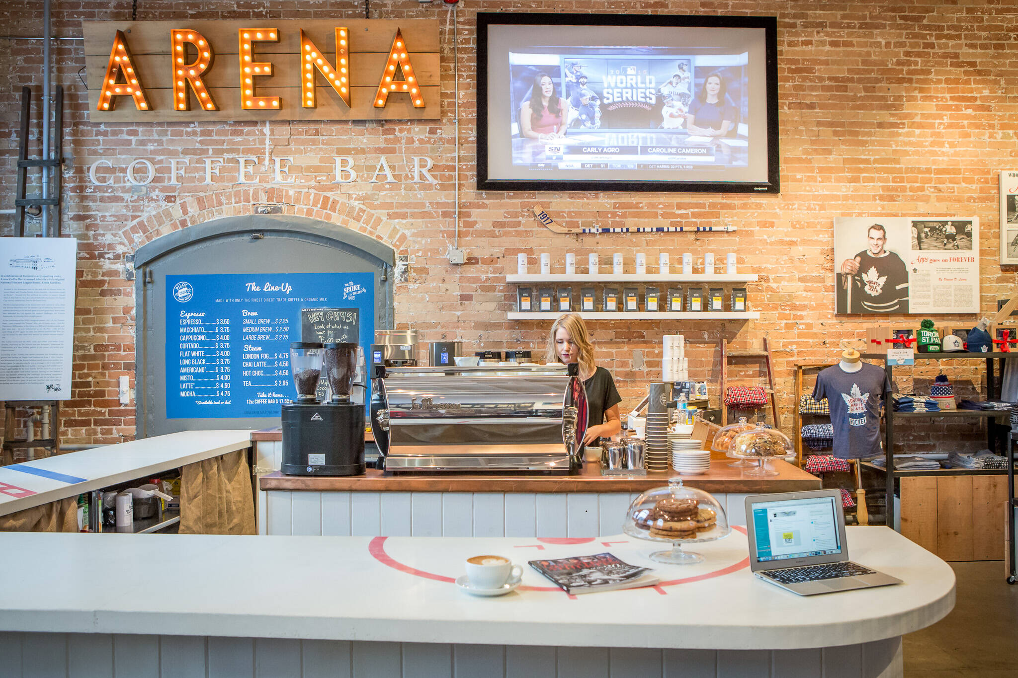 Arena Coffee Toronto