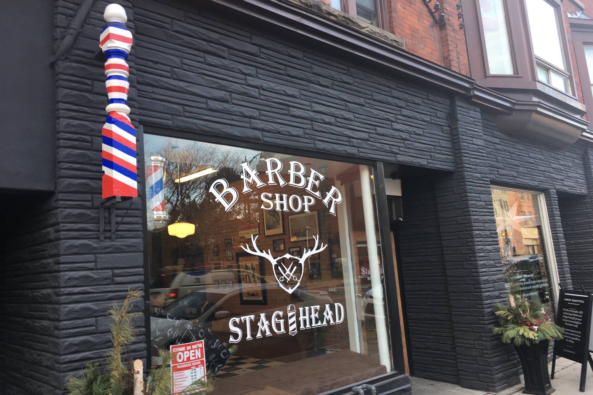 Stag Head Barber Toronto