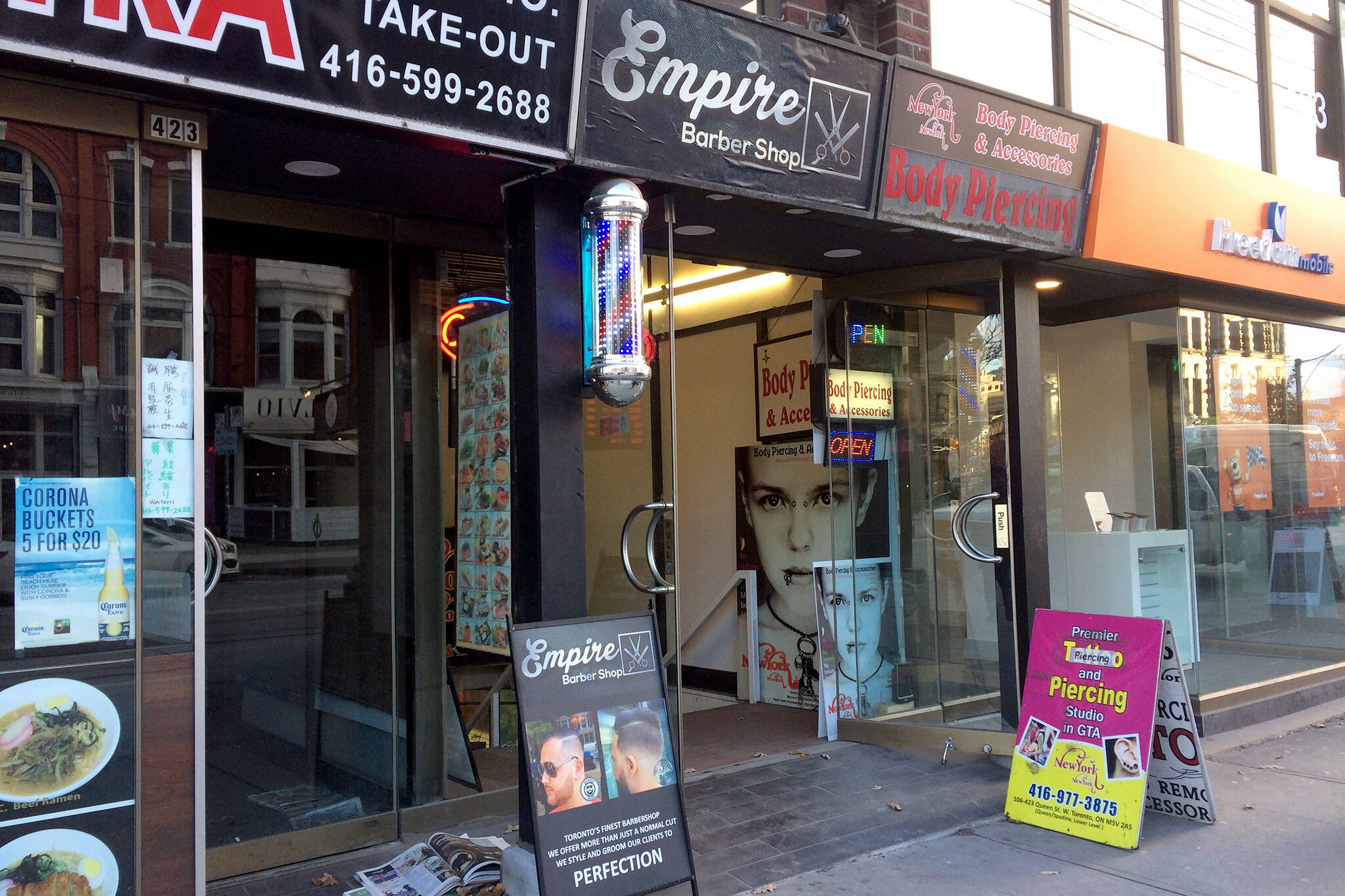 Empire Barber shop Toronto