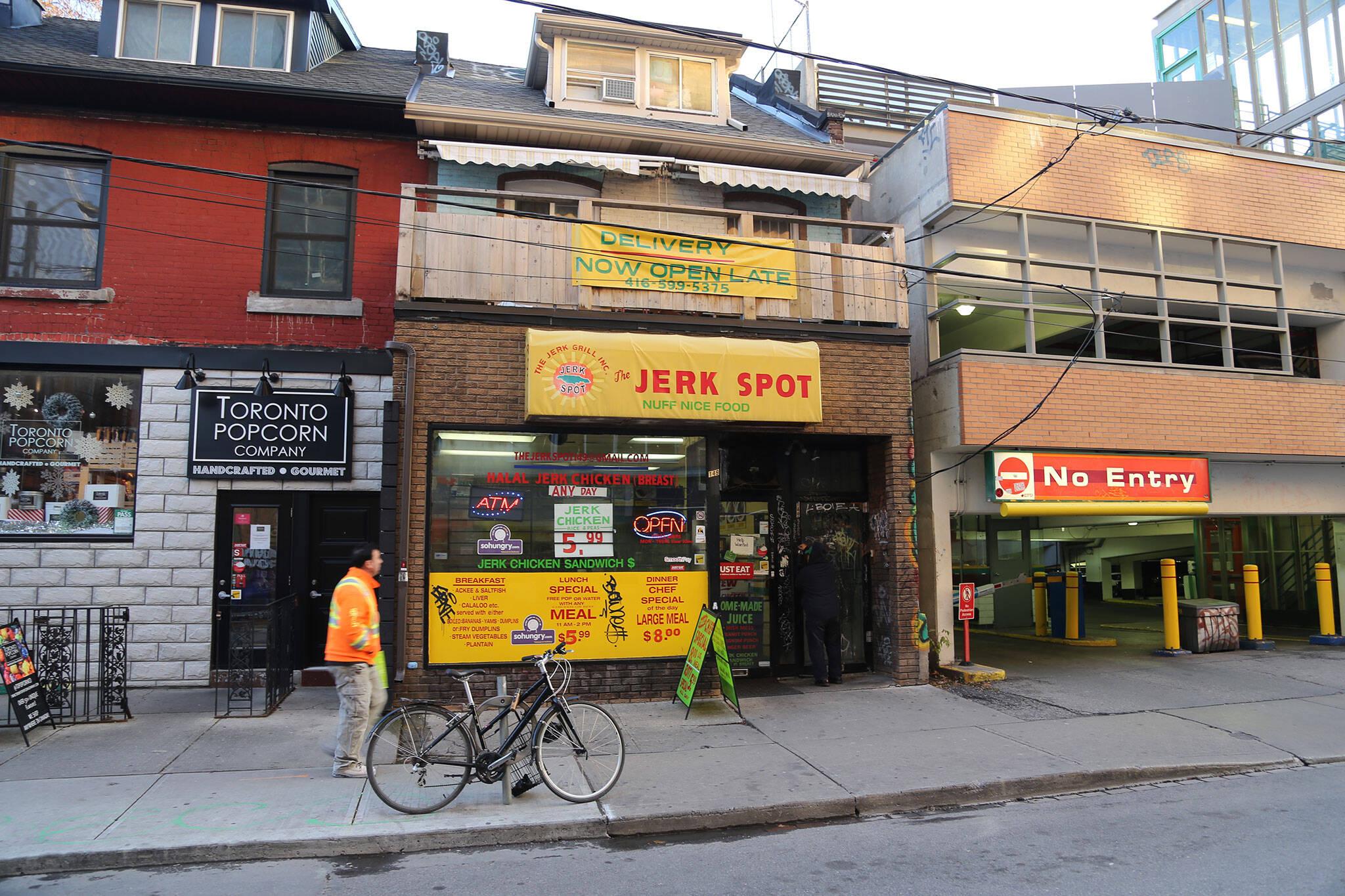 Jerk Spot Baldwin Toronto