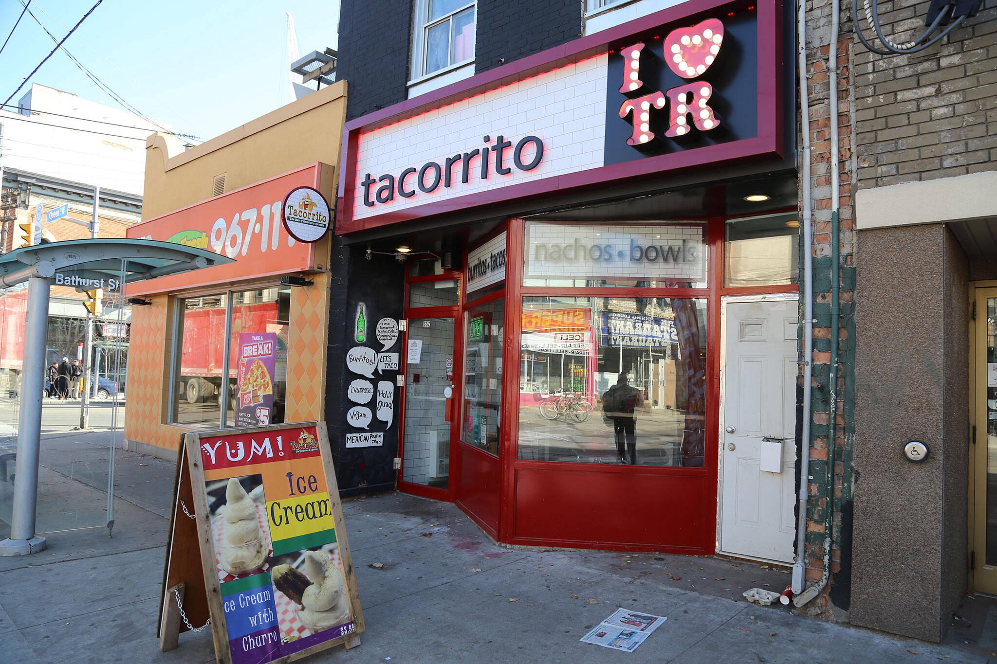 Tacorrito Queen West Toronto