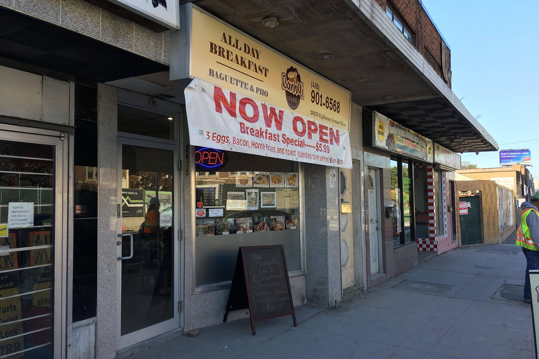 Banh Mi Cafe Toronto