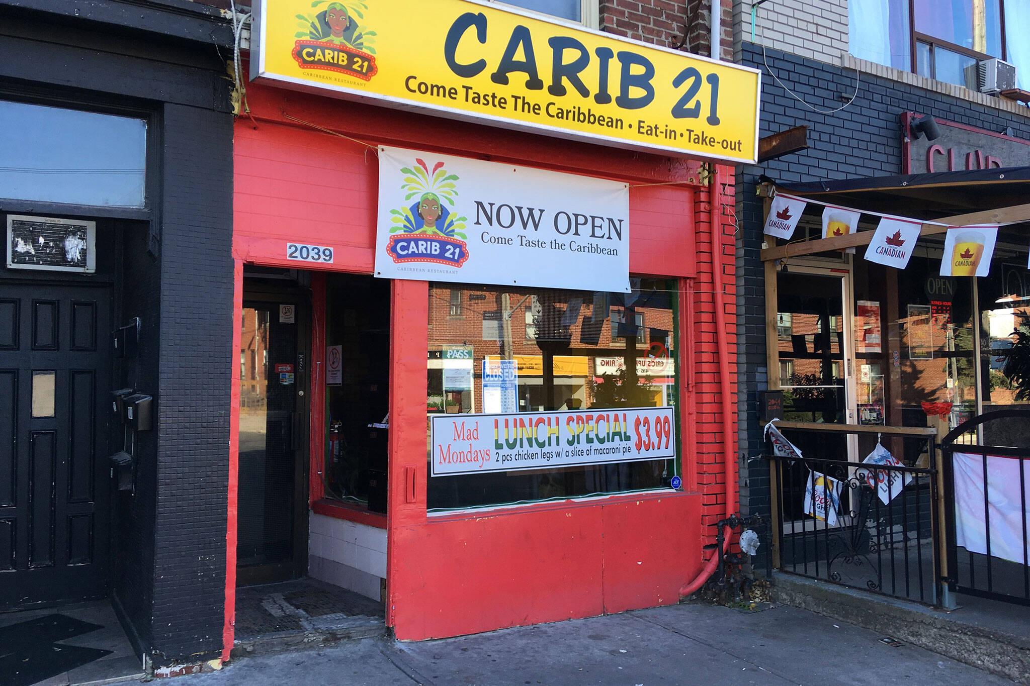 Carib 21 Toronto