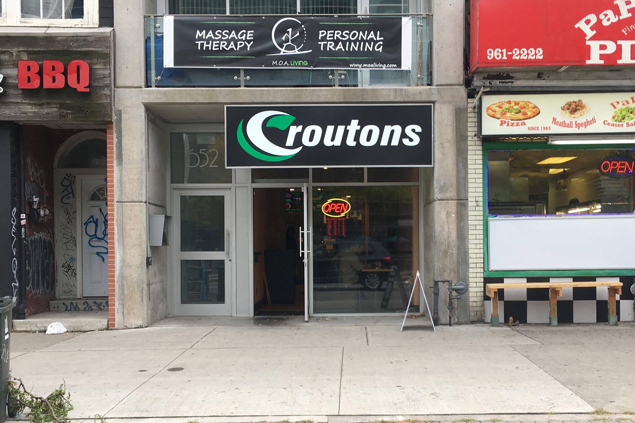 Croutons Toronto