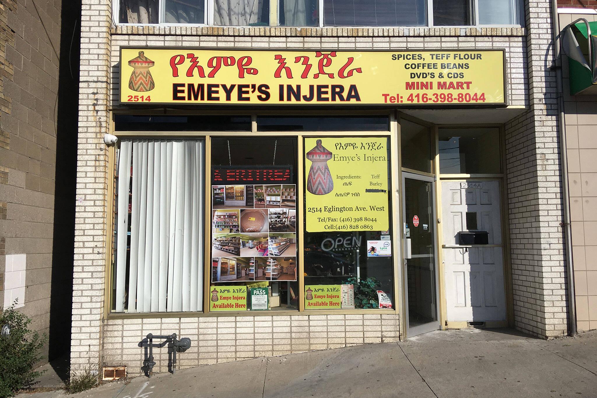 Emeyes Injera Toronto