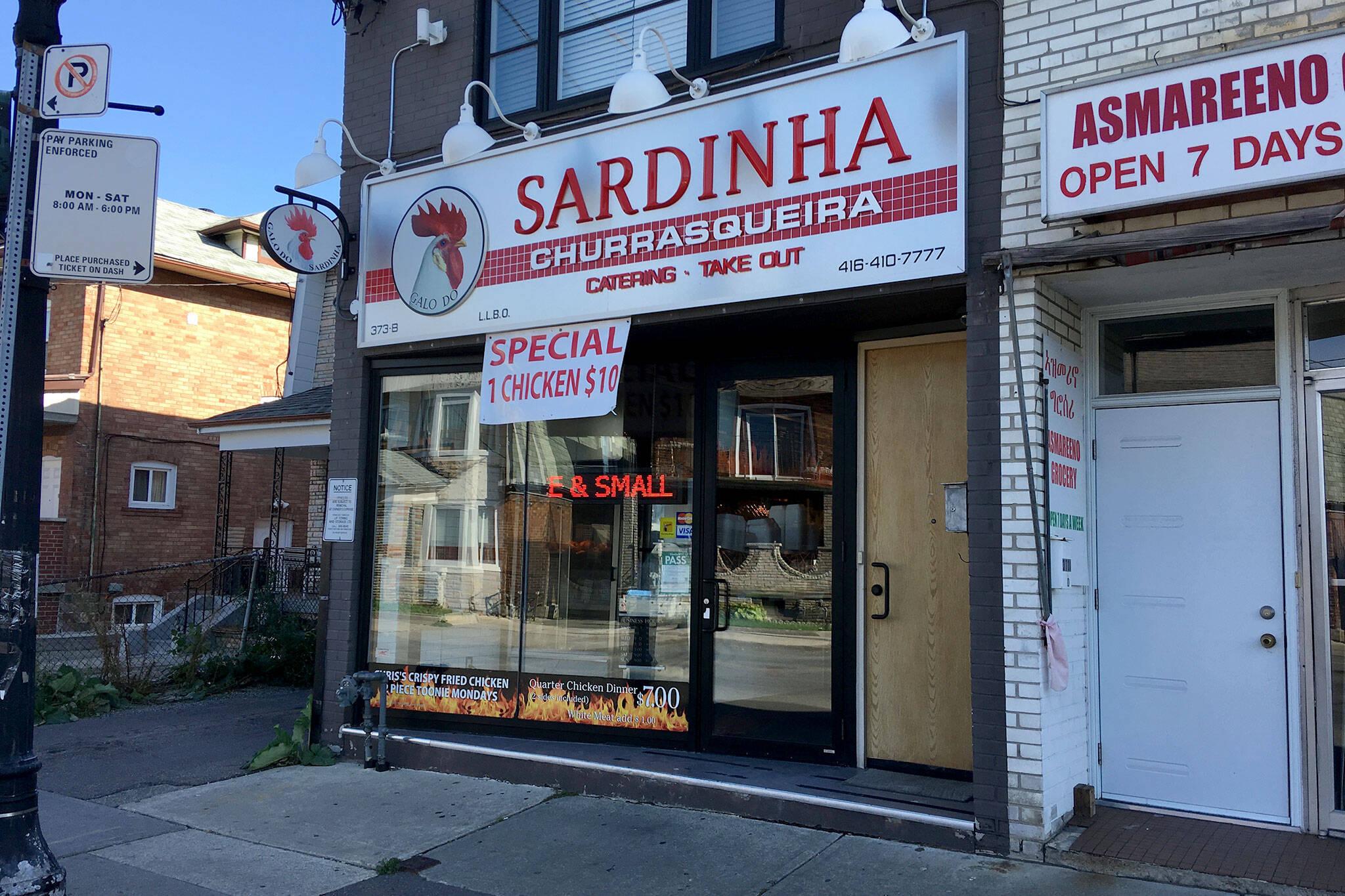 Sardinha Churrasqueira Toronto