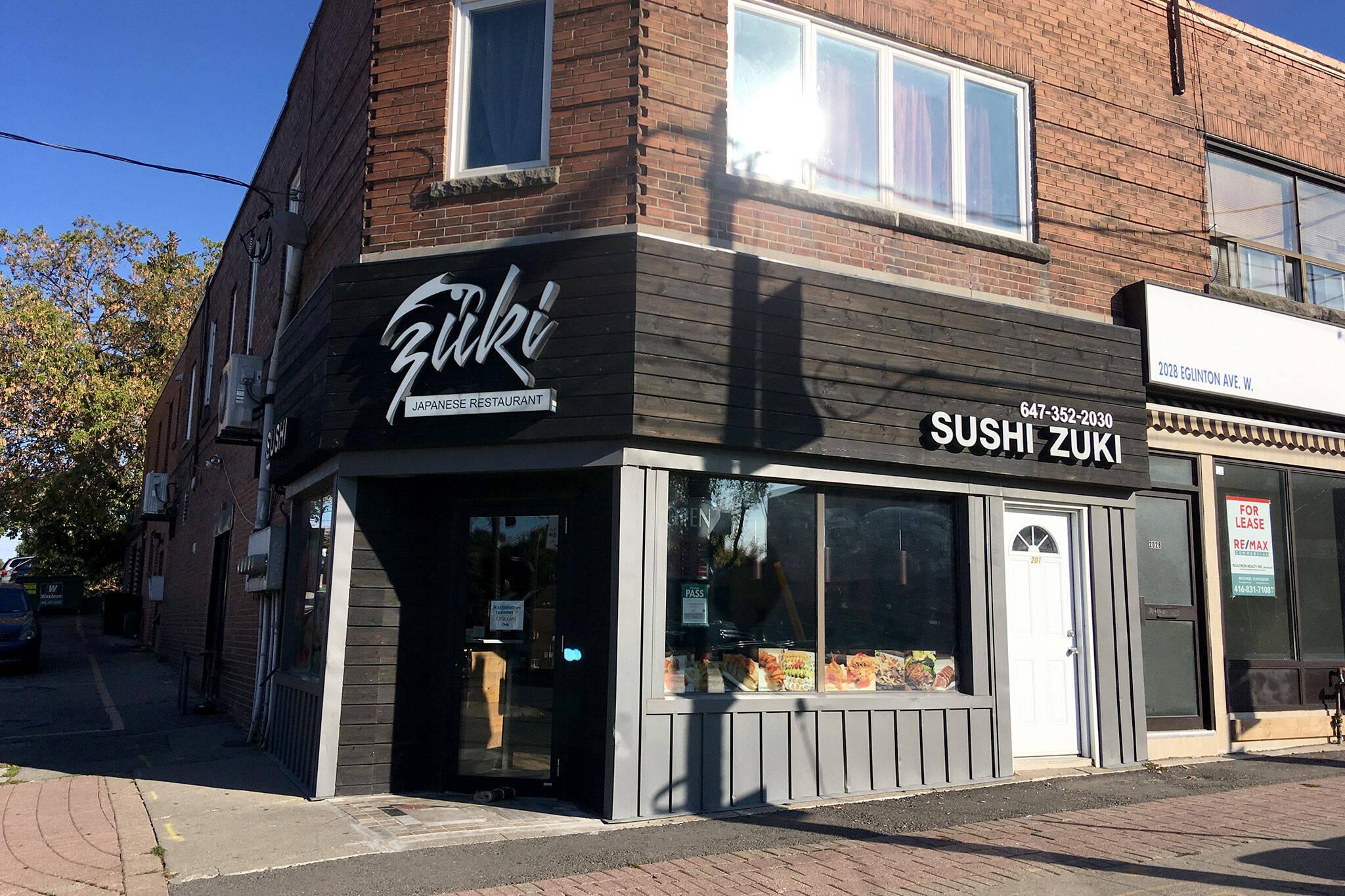 Sushi Zuki Toronto