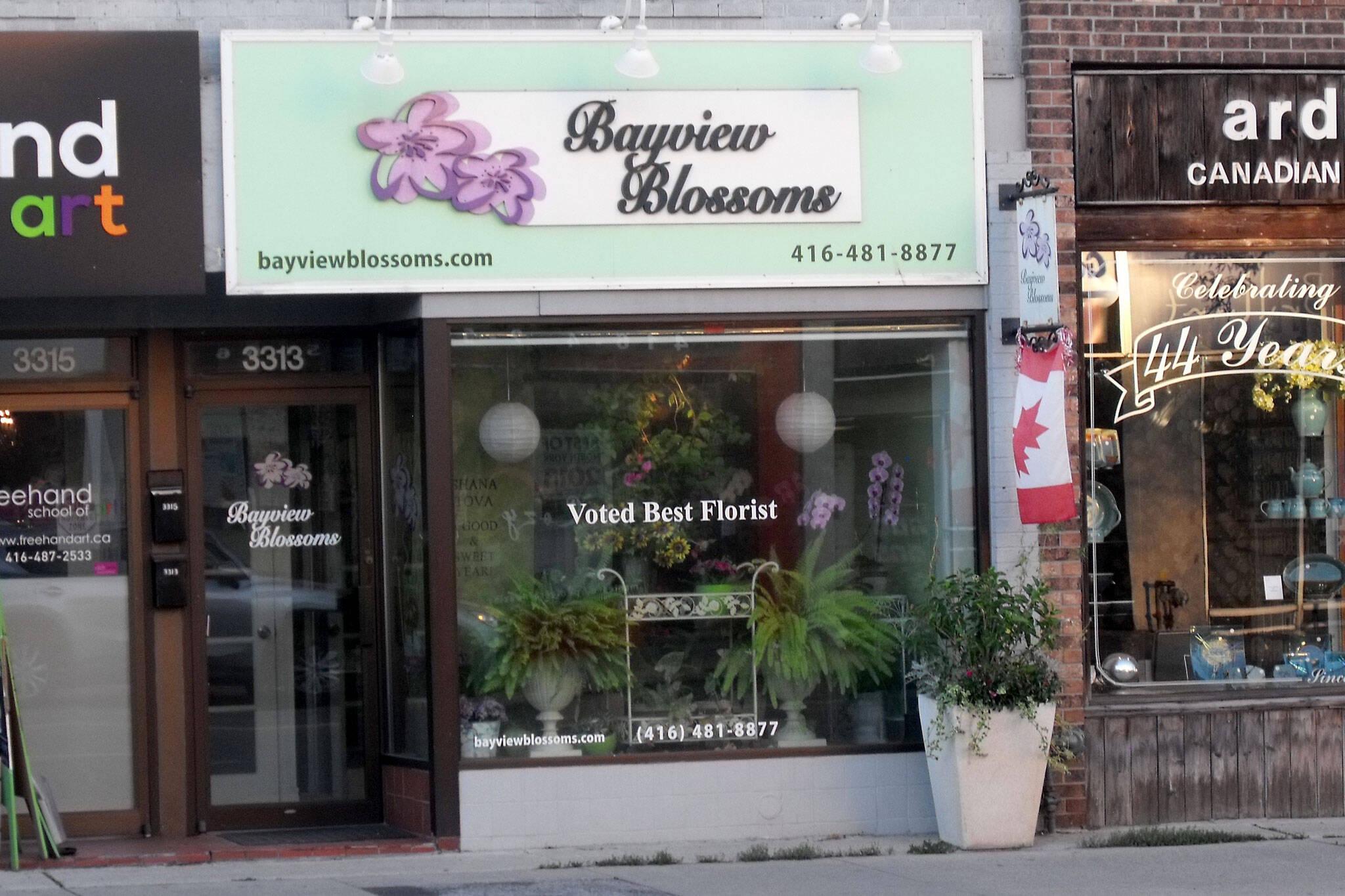Bayview Blossoms Toronto
