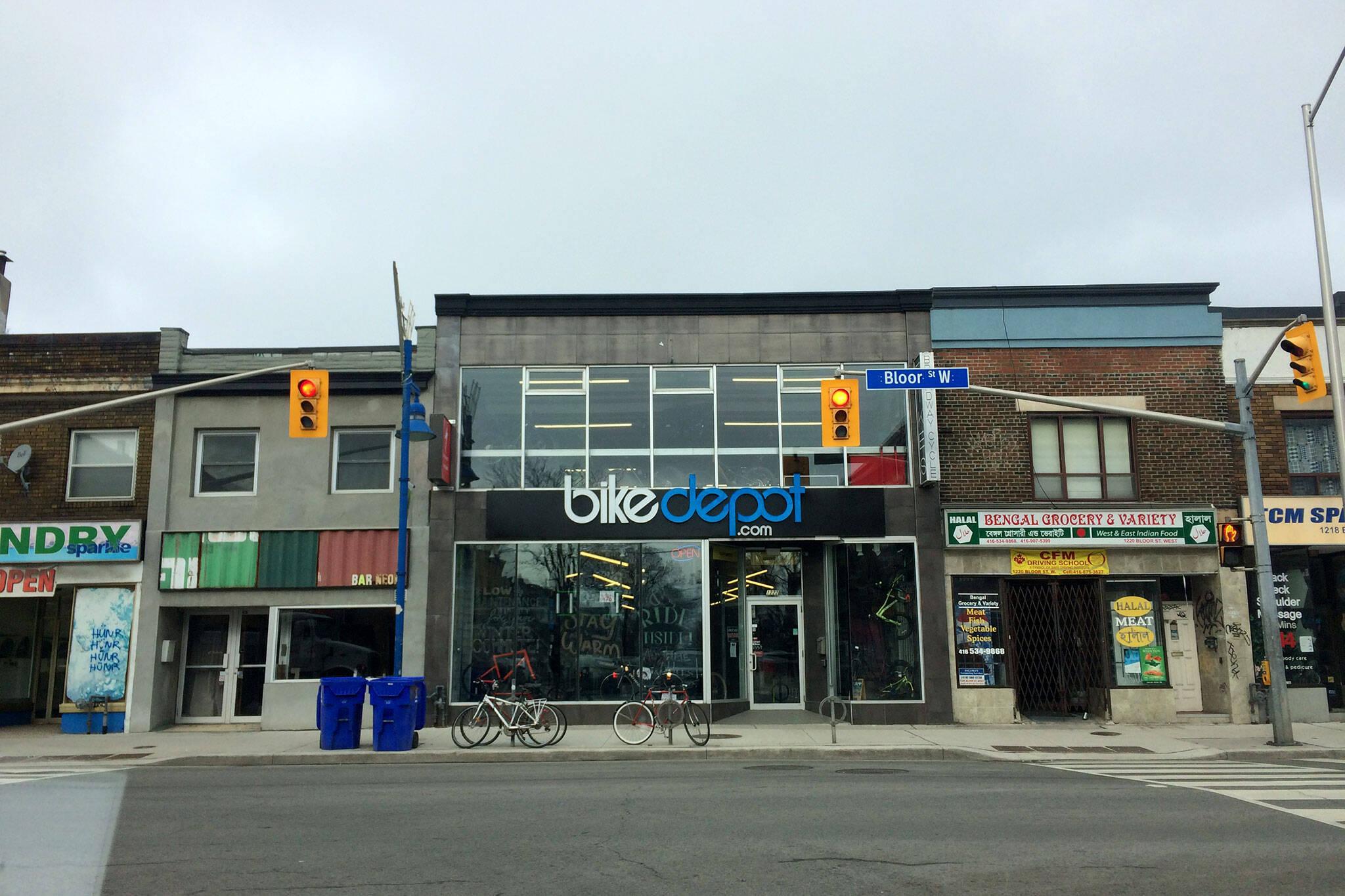 Bike Depot Bloor Toronto
