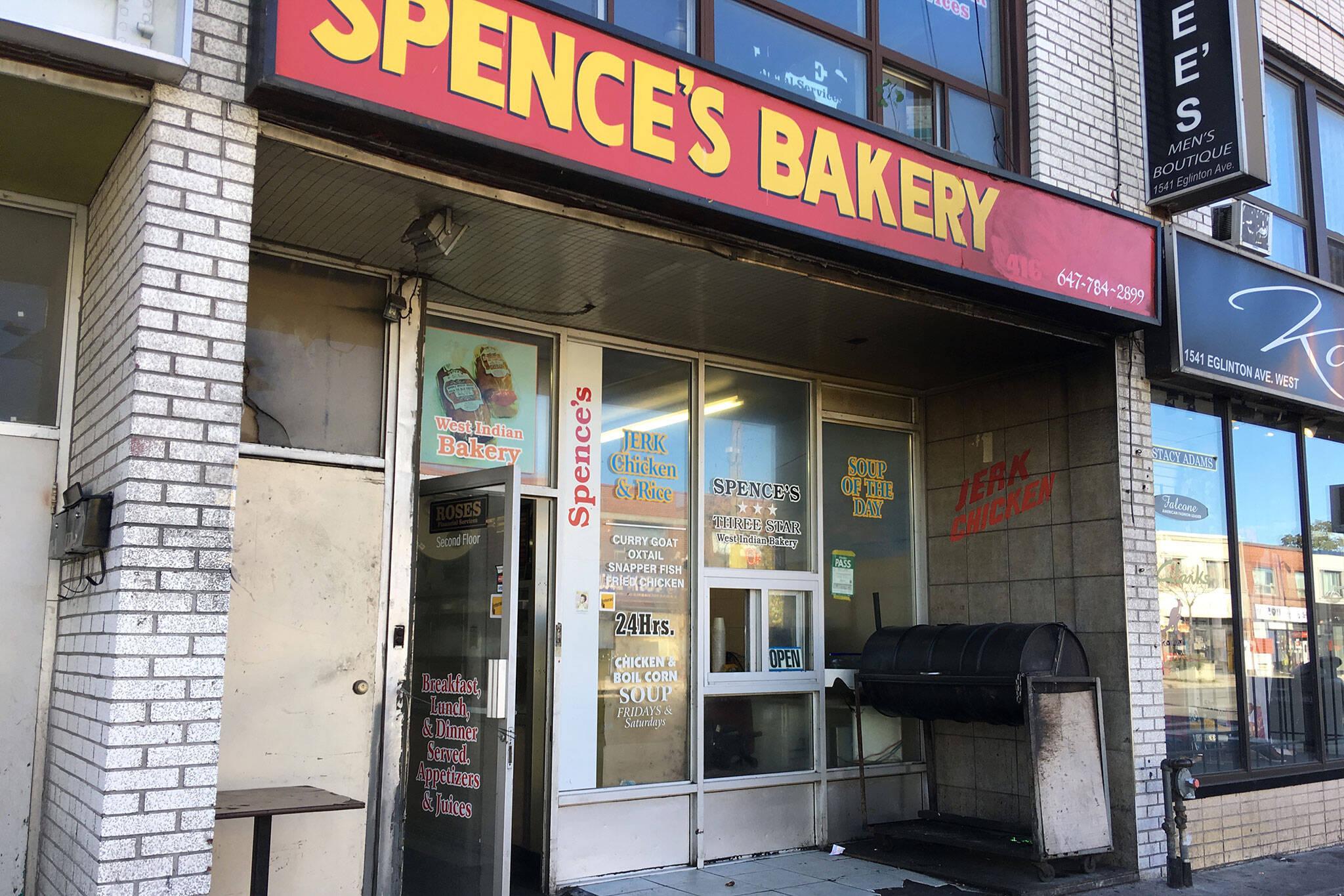spences bakery toronto