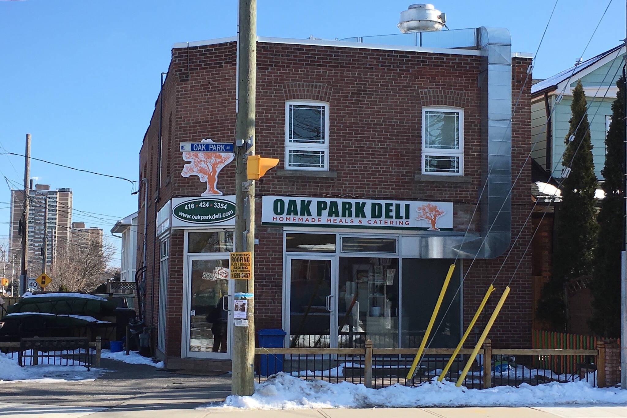 Oak Park Deli Toronto