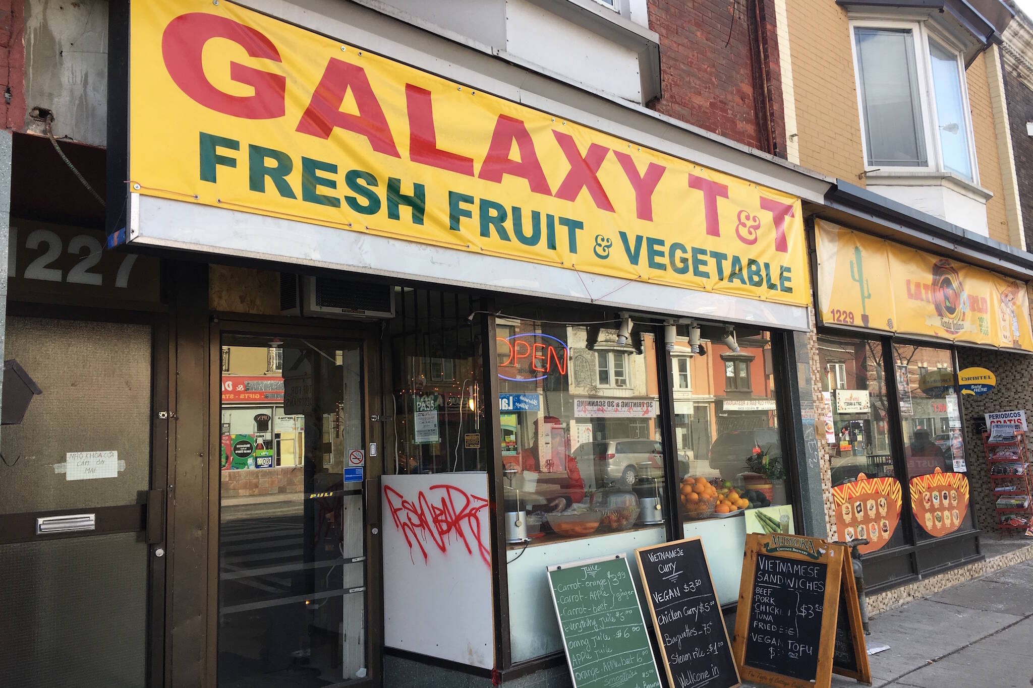 Galaxy Fruit Vegetable Toronto