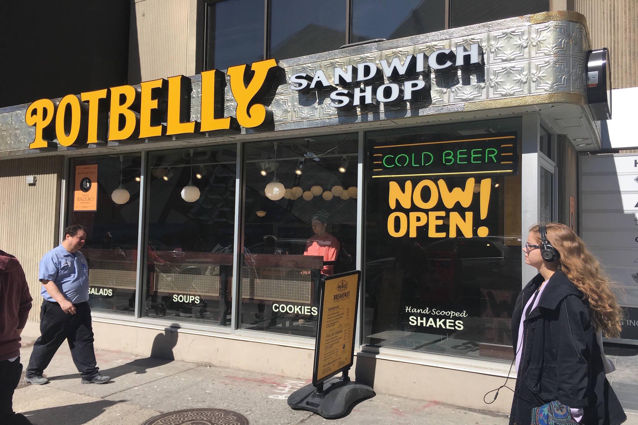 Potbelly Sandwich Toronto