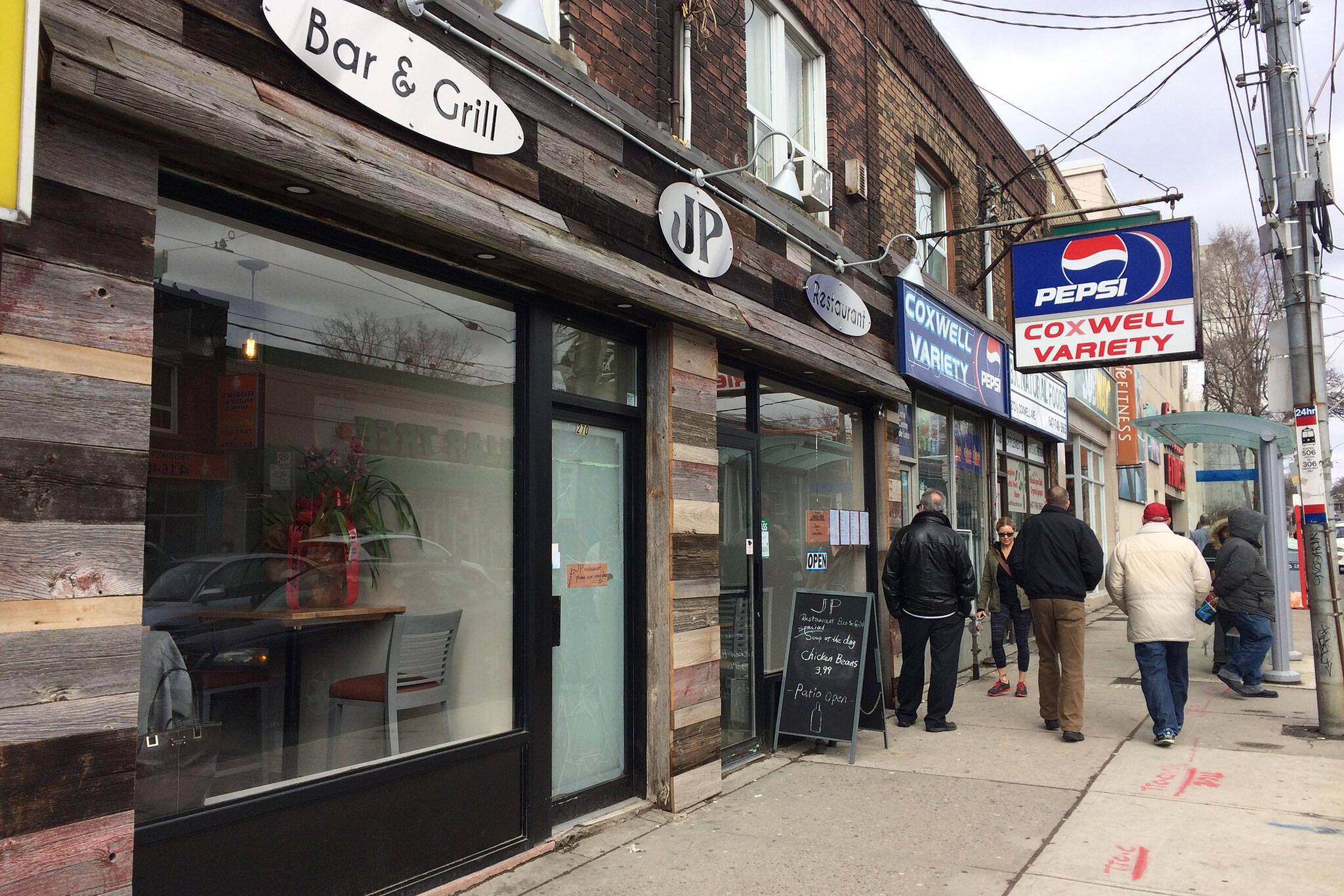 JP Restaurant Bar Grill Toronto