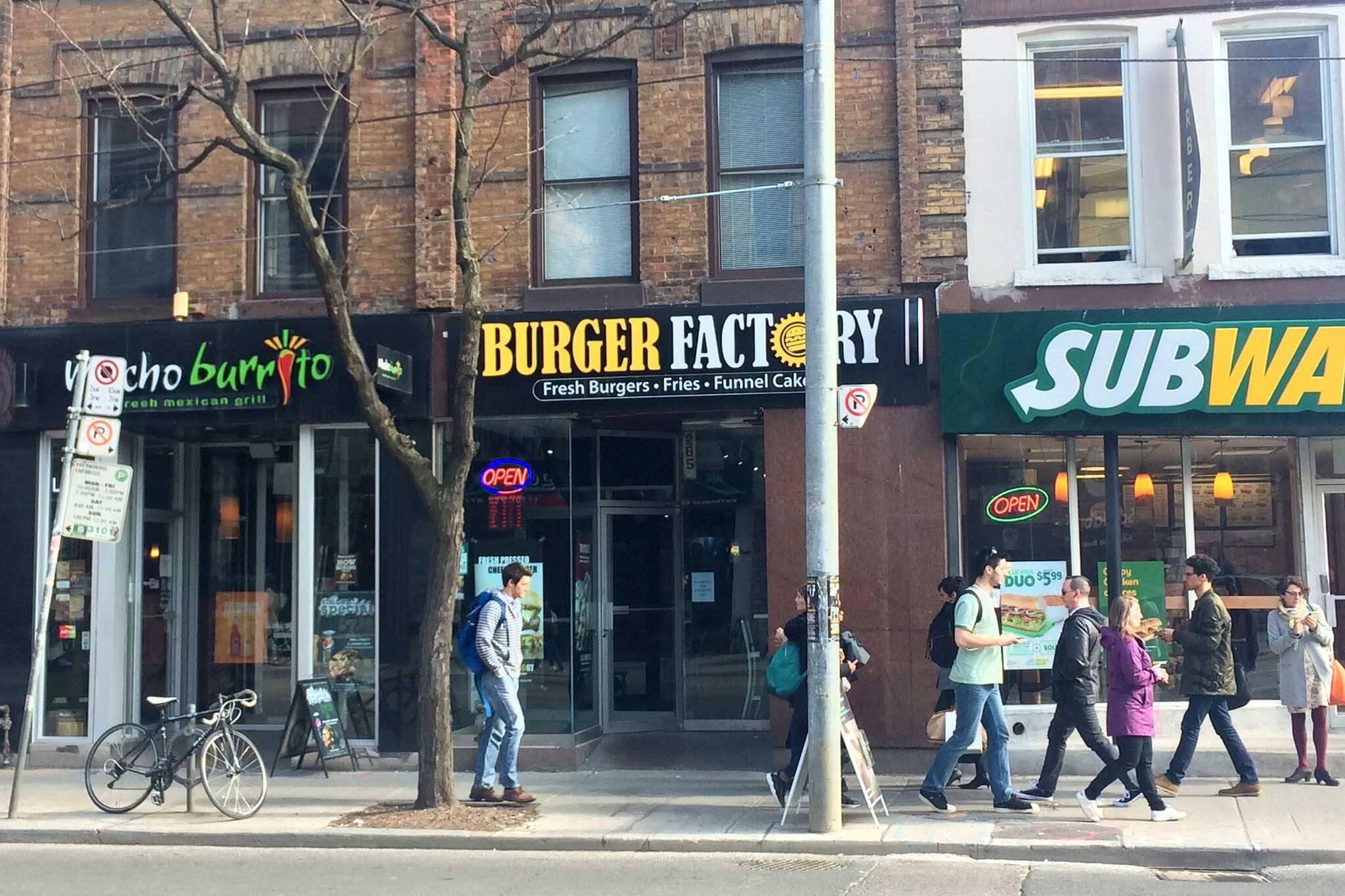 Burger Factory Toronto