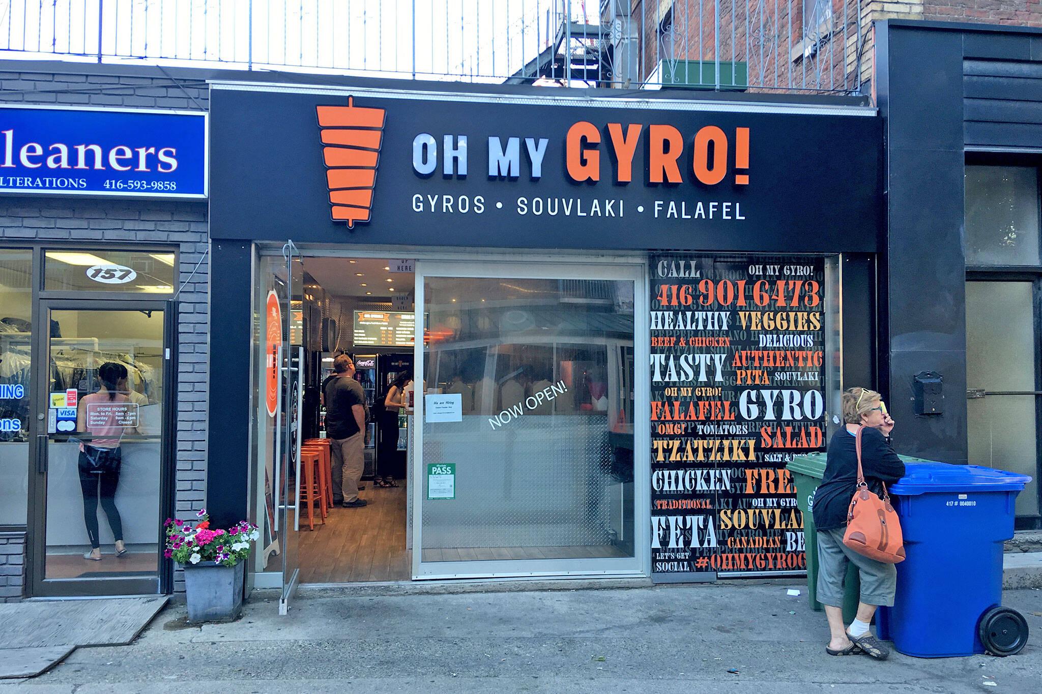 Oh My Gyro toronto