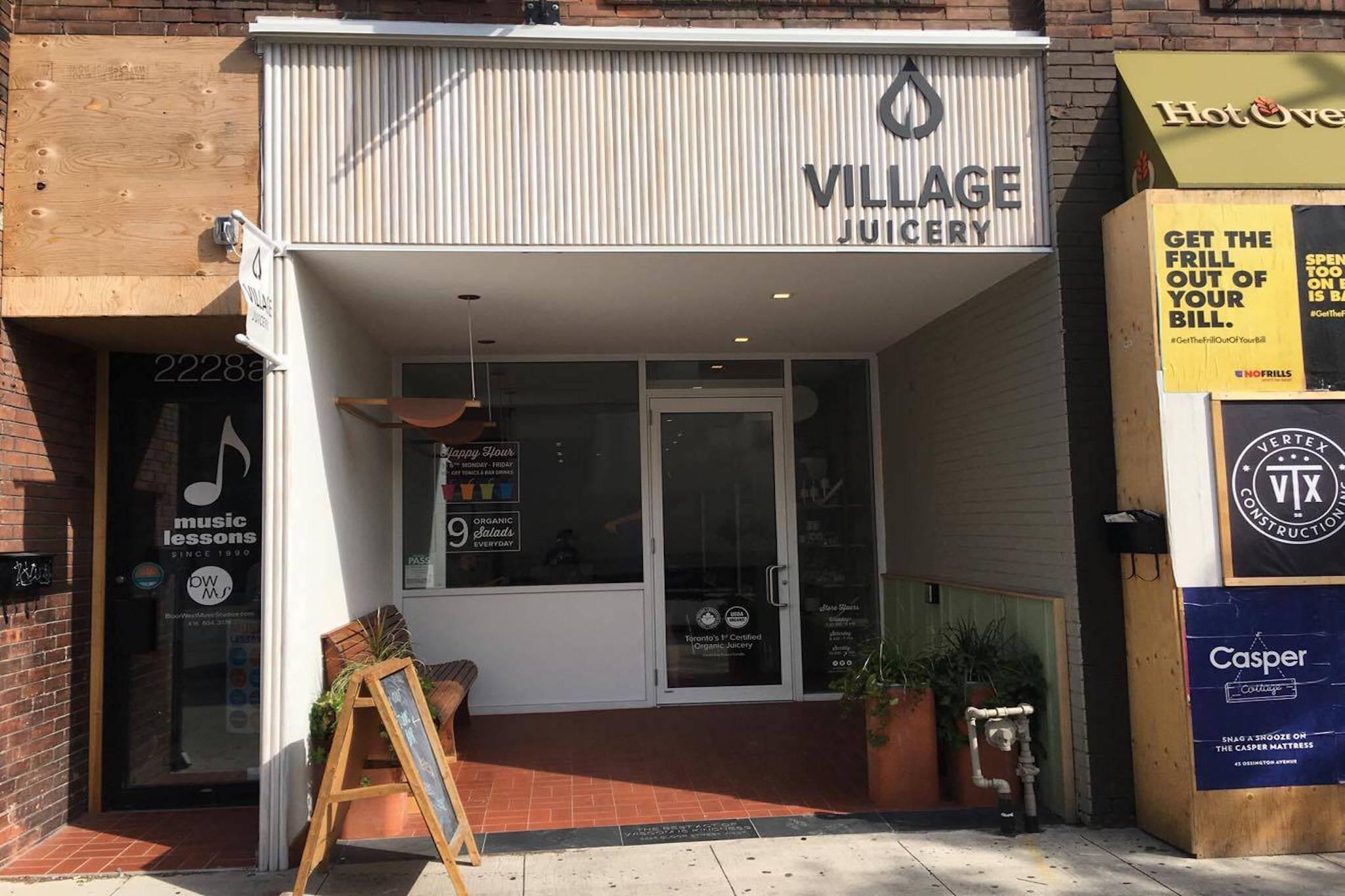 Village Juicery Toronto