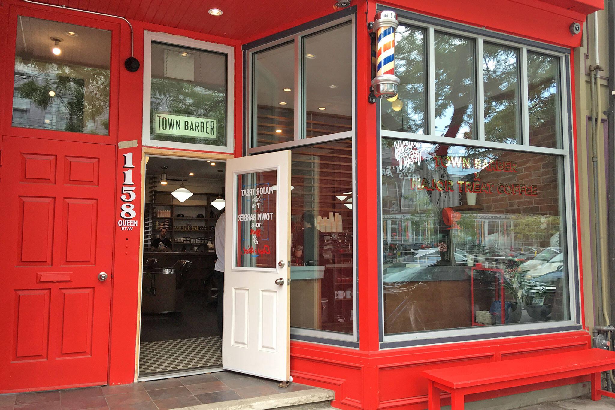 Town Barber Toronto
