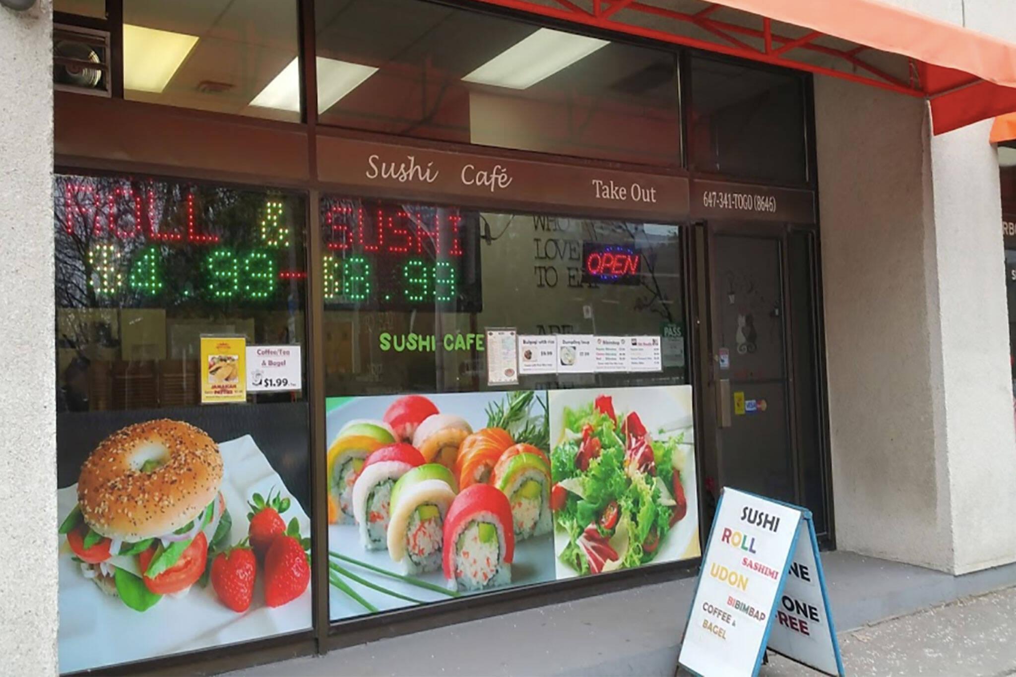 sushi cafe toronto